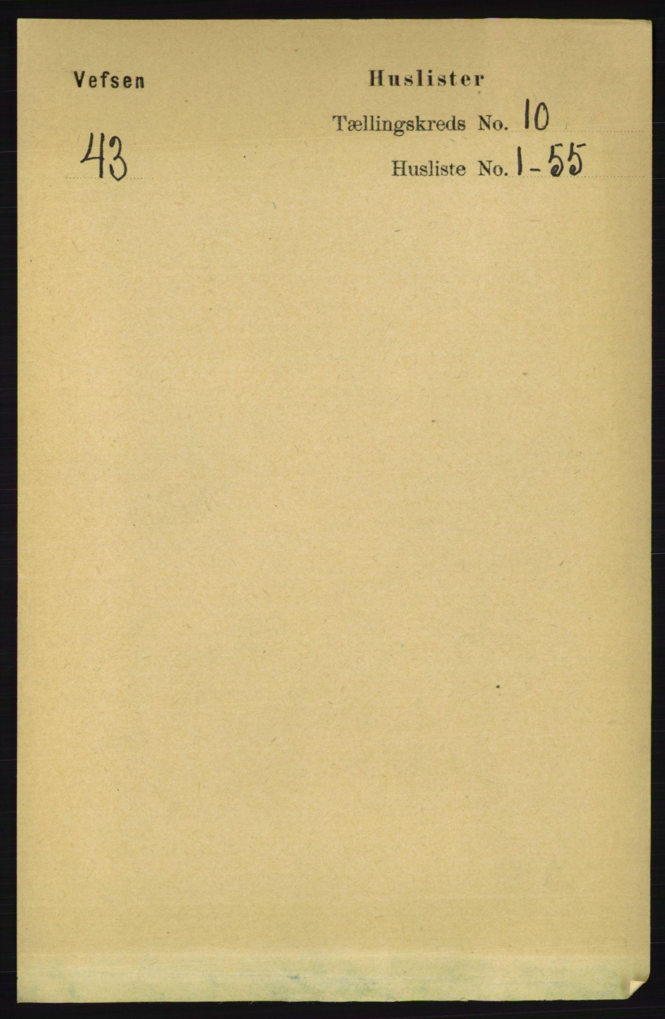 RA, Folketelling 1891 for 1824 Vefsn herred, 1891, s. 5135