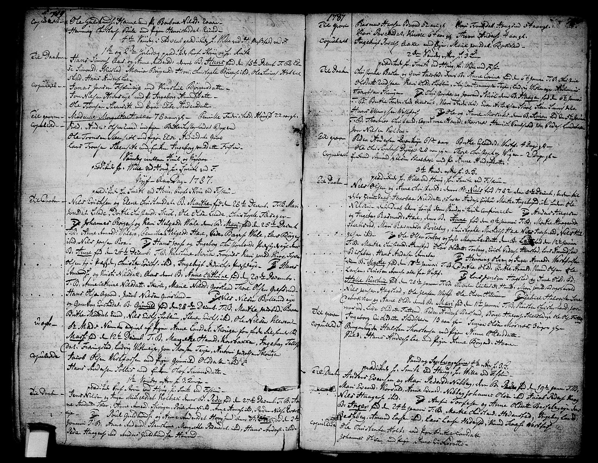 SAKO, Eiker kirkebøker, F/Fa/L0008: Ministerialbok nr. I 8, 1764-1788, s. 709-710