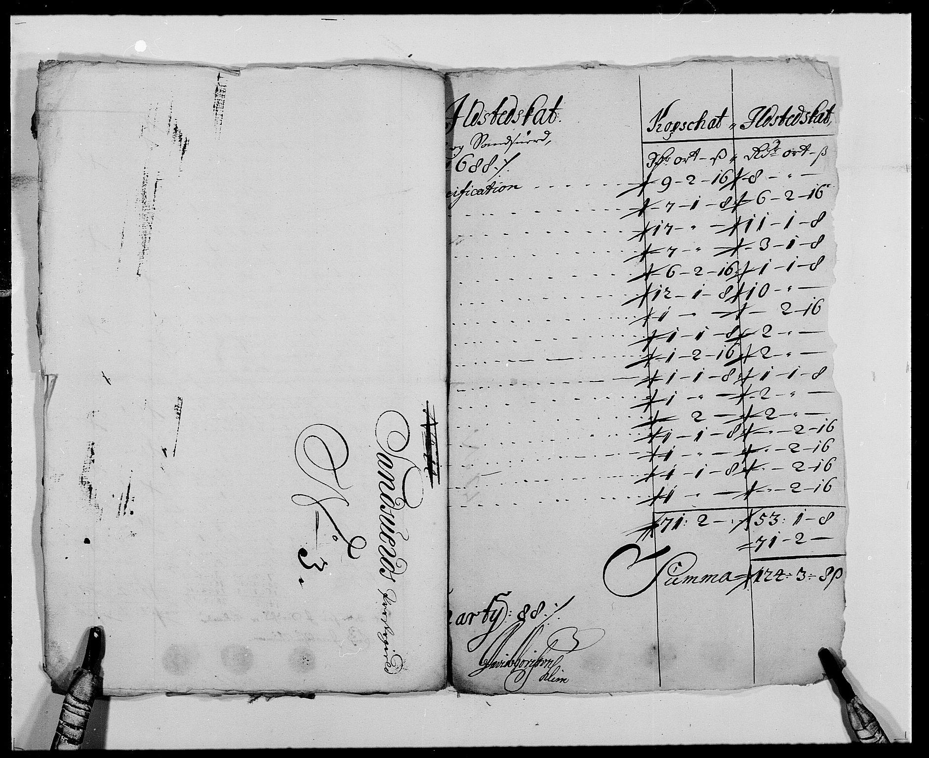RA, Rentekammeret inntil 1814, Reviderte regnskaper, Fogderegnskap, R24/L1573: Fogderegnskap Numedal og Sandsvær, 1687-1691, s. 339