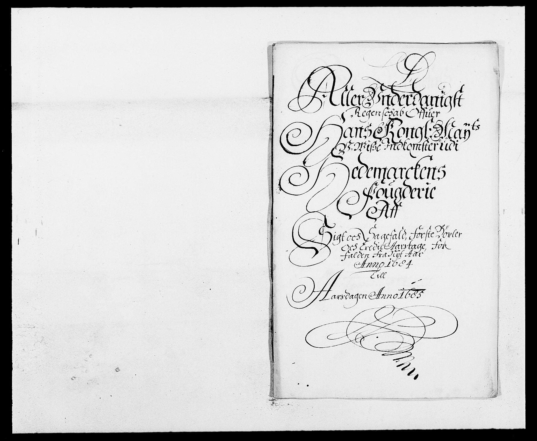 RA, Rentekammeret inntil 1814, Reviderte regnskaper, Fogderegnskap, R16/L1025: Fogderegnskap Hedmark, 1684, s. 265