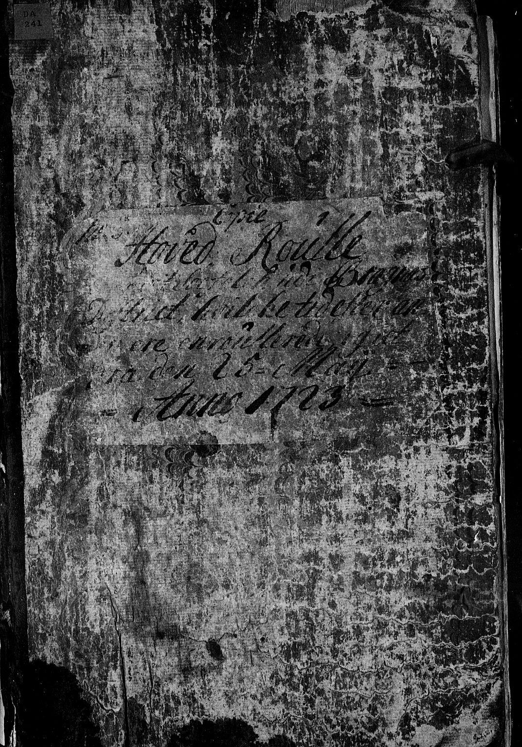 SAKO, Drammen innrulleringsdistrikt, F/Fa/L0004: Hovedrulle kopi, 1723-1726, s. 2