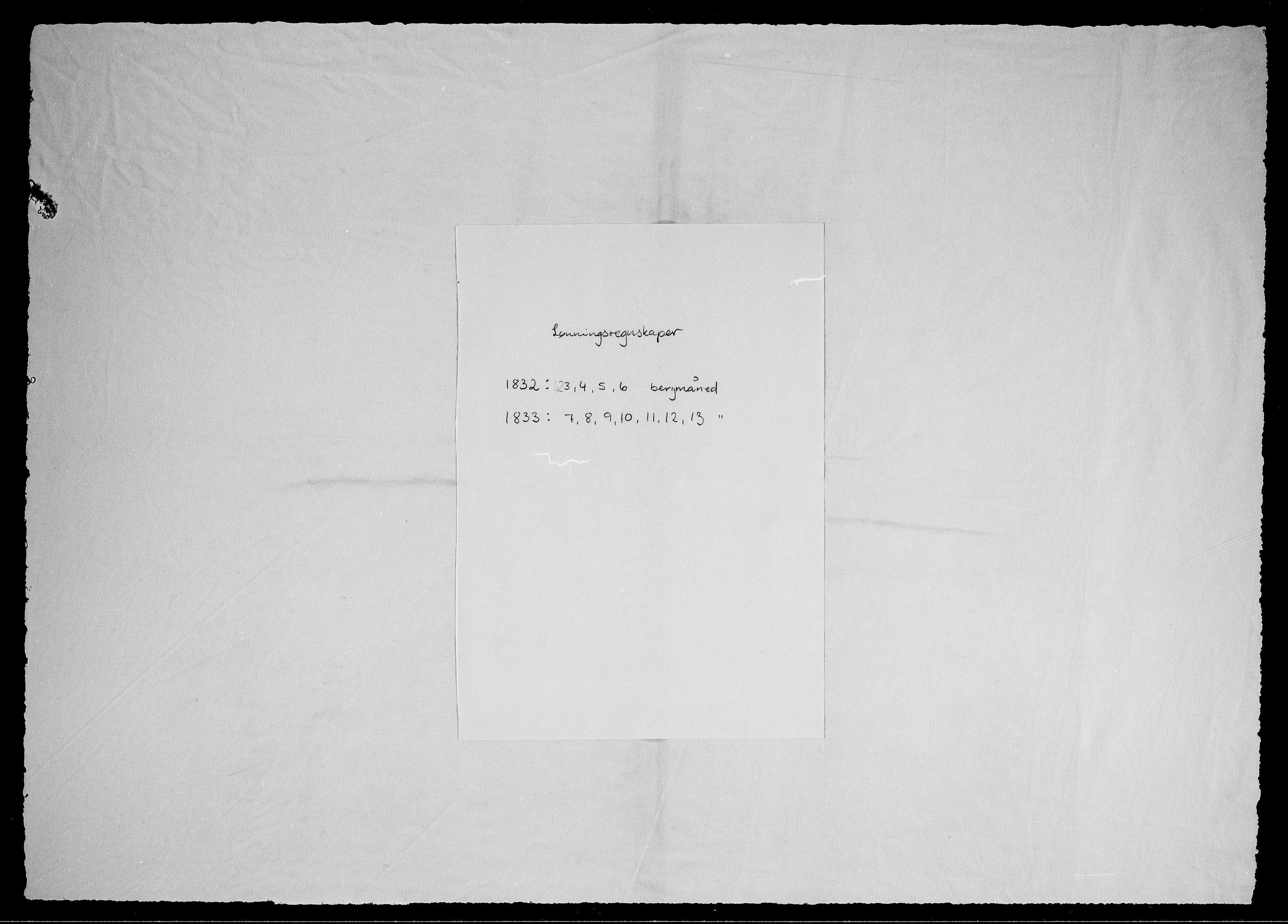RA, Modums Blaafarveværk, G/Gd/Gdd/L0273, 1832-1833, s. 2