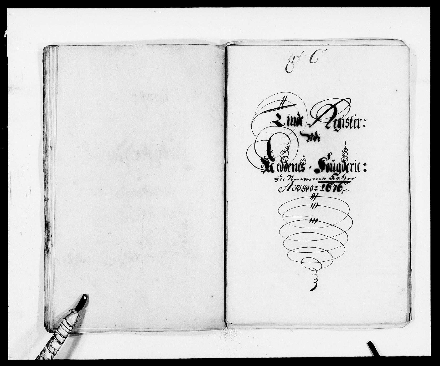 RA, Rentekammeret inntil 1814, Reviderte regnskaper, Fogderegnskap, R39/L2301: Fogderegnskap Nedenes, 1675-1676, s. 231