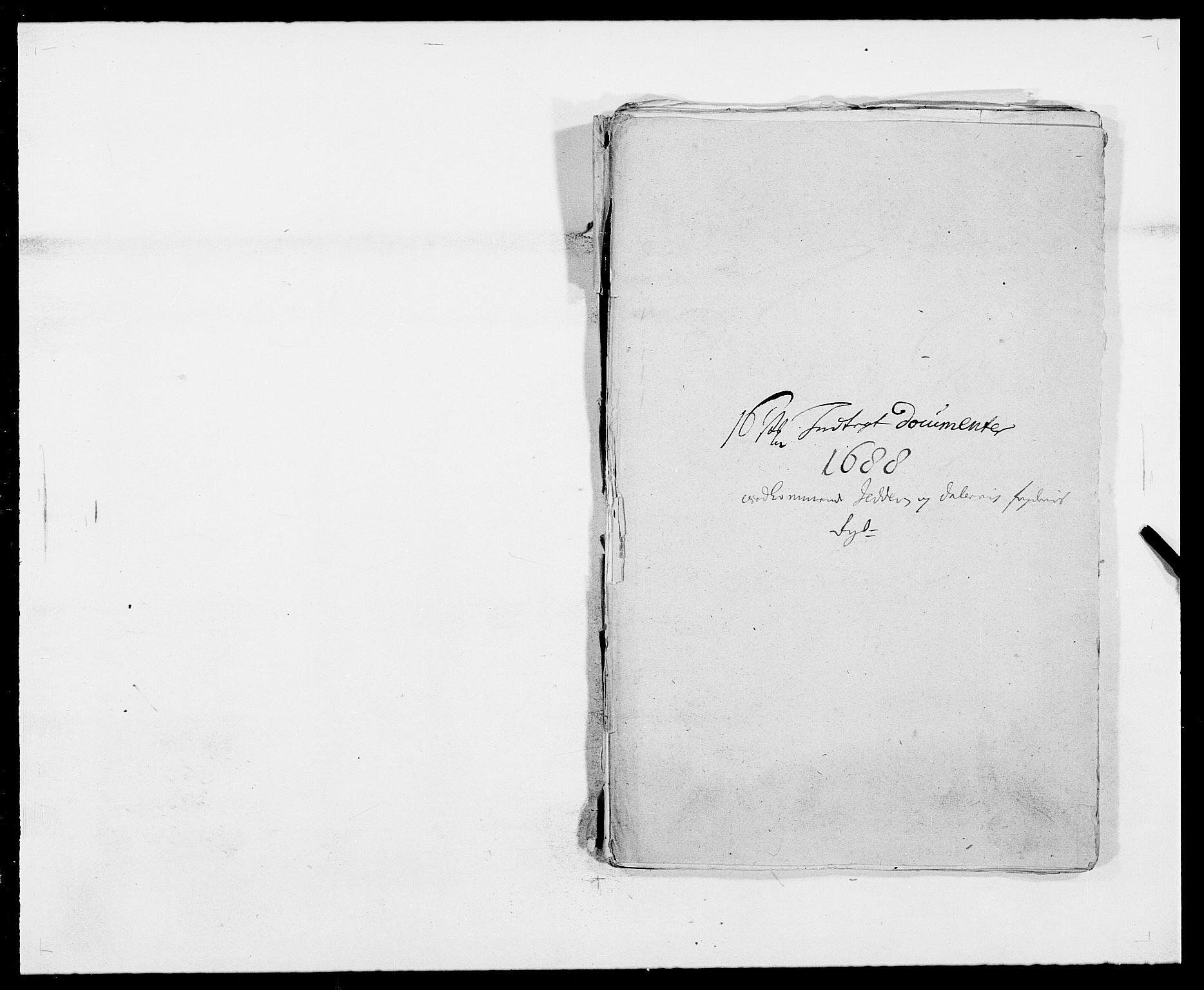RA, Rentekammeret inntil 1814, Reviderte regnskaper, Fogderegnskap, R46/L2726: Fogderegnskap Jæren og Dalane, 1686-1689, s. 245