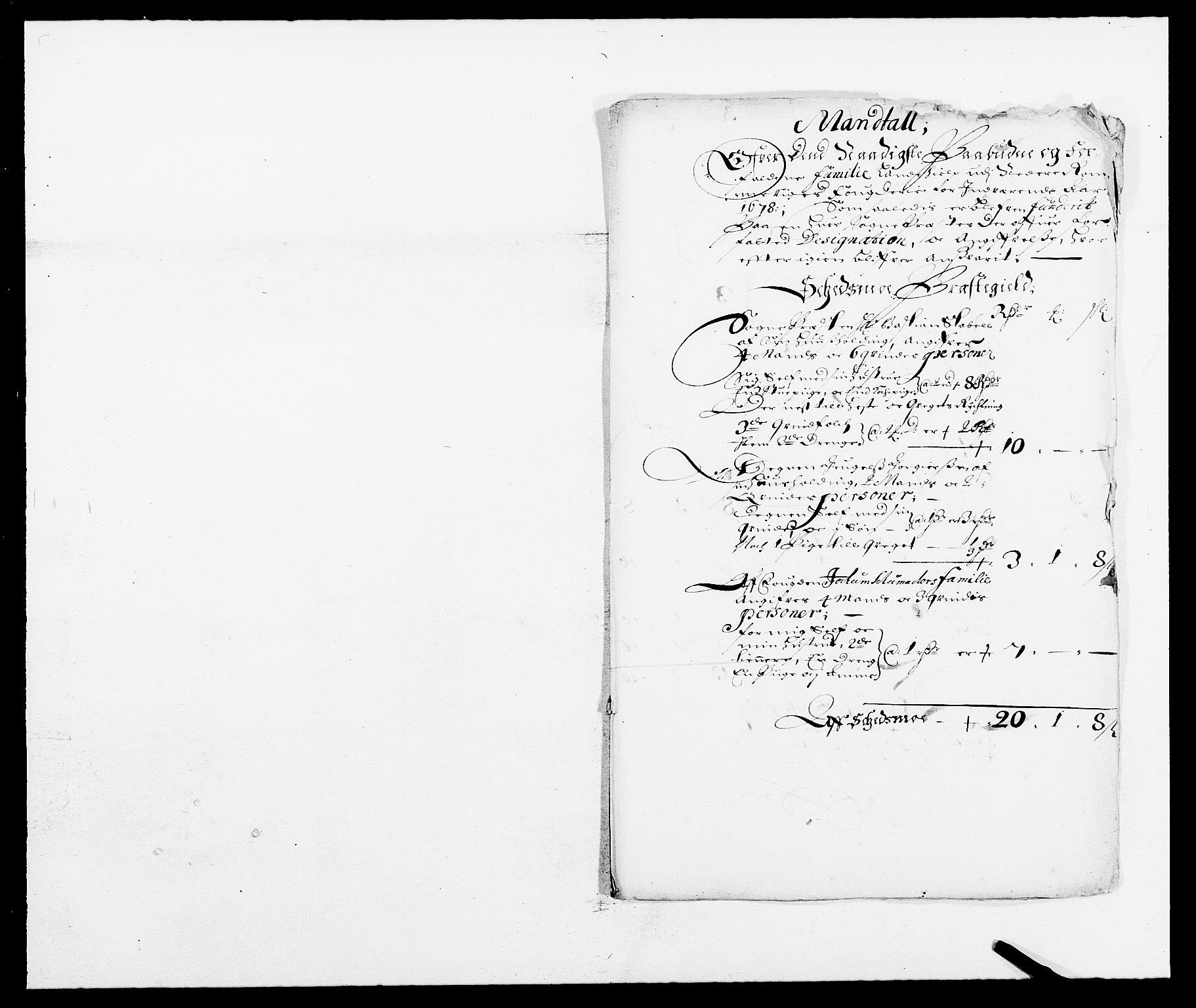 RA, Rentekammeret inntil 1814, Reviderte regnskaper, Fogderegnskap, R11/L0567: Fogderegnskap Nedre Romerike, 1678, s. 271