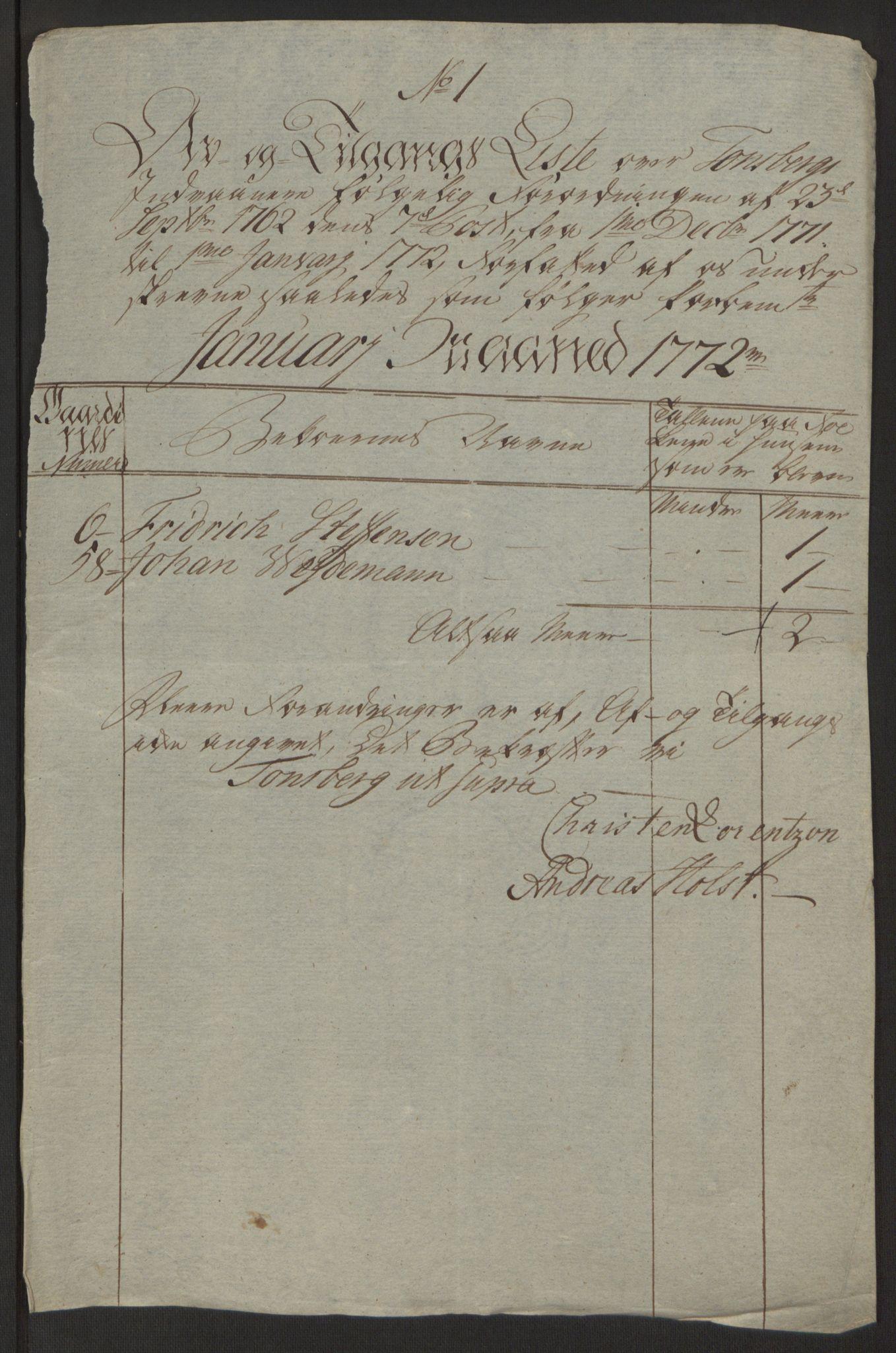 RA, Rentekammeret inntil 1814, Reviderte regnskaper, Byregnskaper, R/Rh/L0162: [H4] Kontribusjonsregnskap, 1762-1772, s. 407