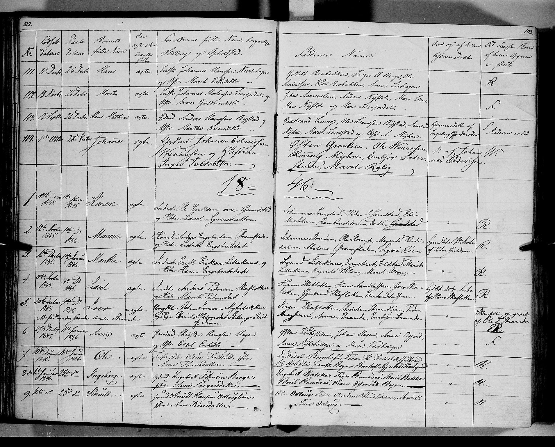 SAH, Ringebu prestekontor, Ministerialbok nr. 5, 1839-1848, s. 102-103