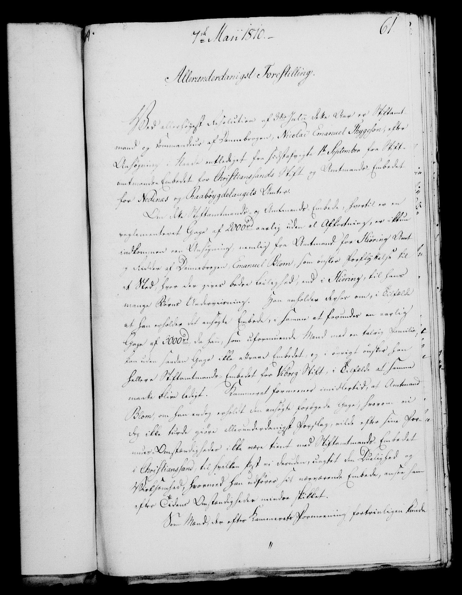 RA, Rentekammeret, Kammerkanselliet, G/Gf/Gfa/L0092: Norsk relasjons- og resolusjonsprotokoll (merket RK 52.92), 1810, s. 238