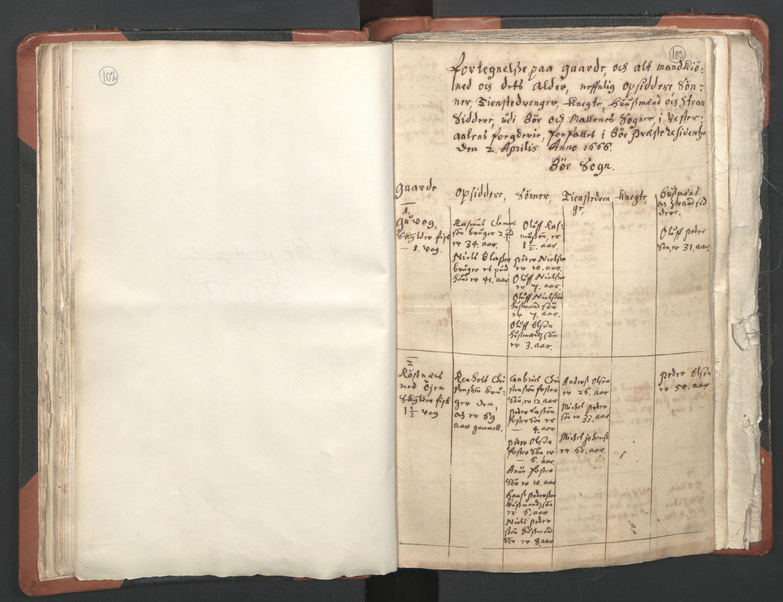 RA, Sogneprestenes manntall 1664-1666, nr. 36: Lofoten og Vesterålen prosti, Senja prosti og Troms prosti, 1664-1666, s. 102-103