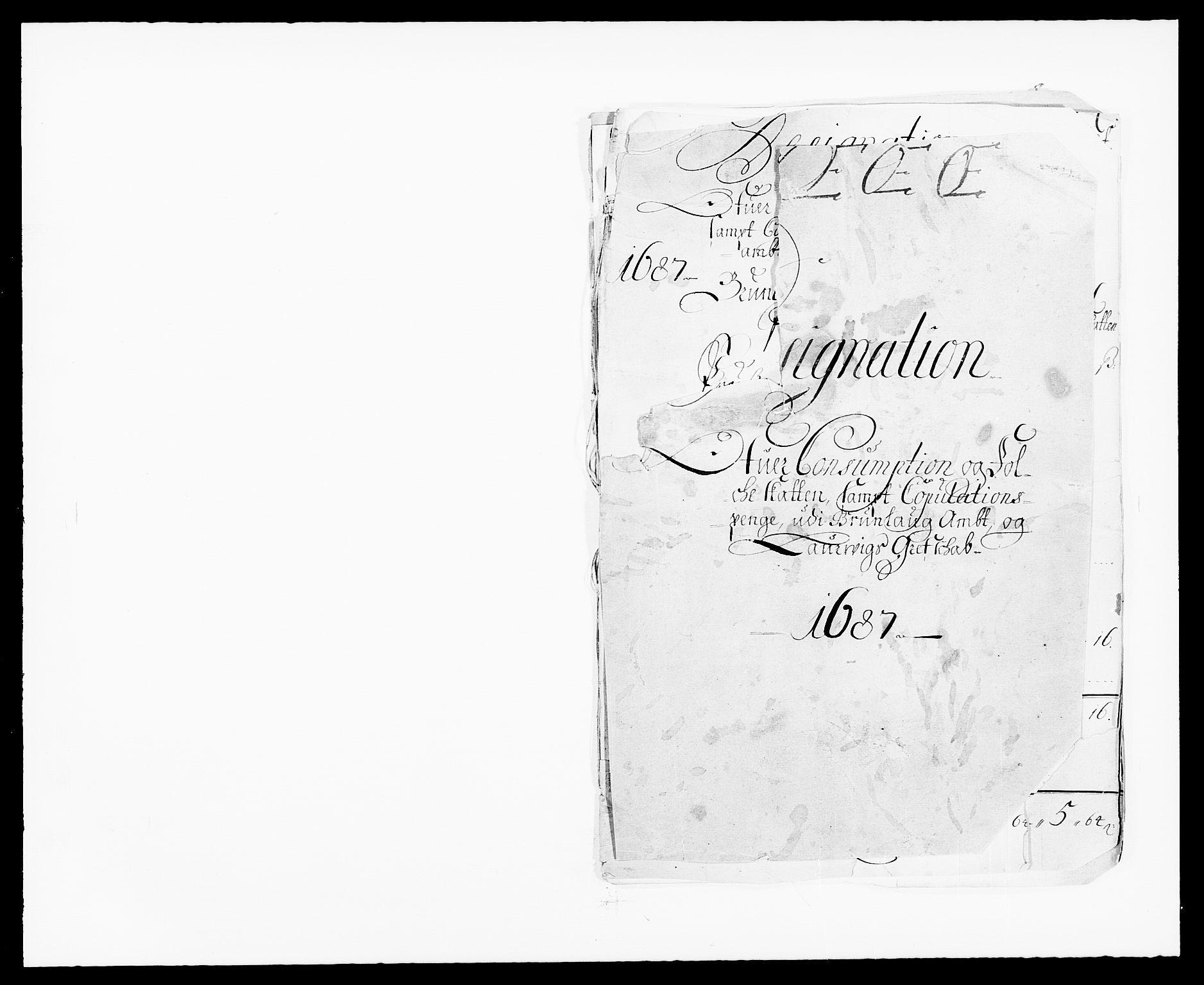 RA, Rentekammeret inntil 1814, Reviderte regnskaper, Fogderegnskap, R33/L1970: Fogderegnskap Larvik grevskap, 1675-1687, s. 394