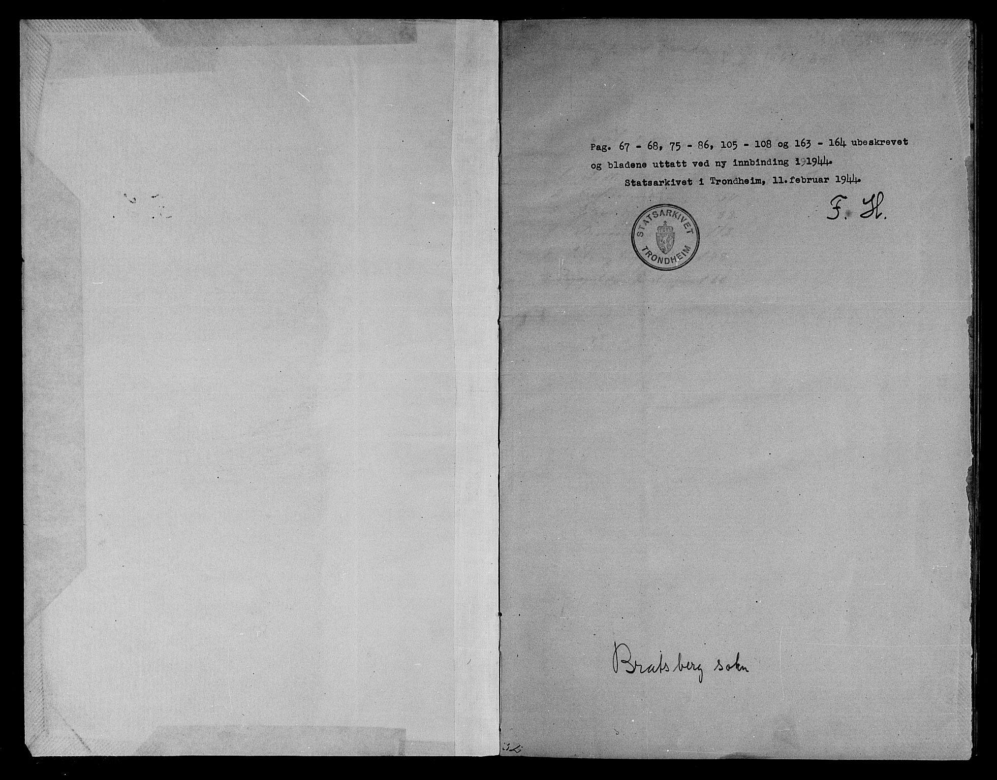 SAT, Ministerialprotokoller, klokkerbøker og fødselsregistre - Sør-Trøndelag, 608/L0340: Klokkerbok nr. 608C06, 1864-1889