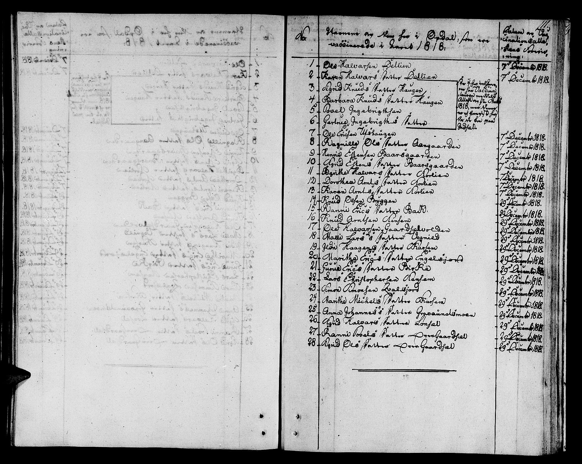 SAT, Ministerialprotokoller, klokkerbøker og fødselsregistre - Sør-Trøndelag, 678/L0894: Ministerialbok nr. 678A04, 1806-1815, s. 111