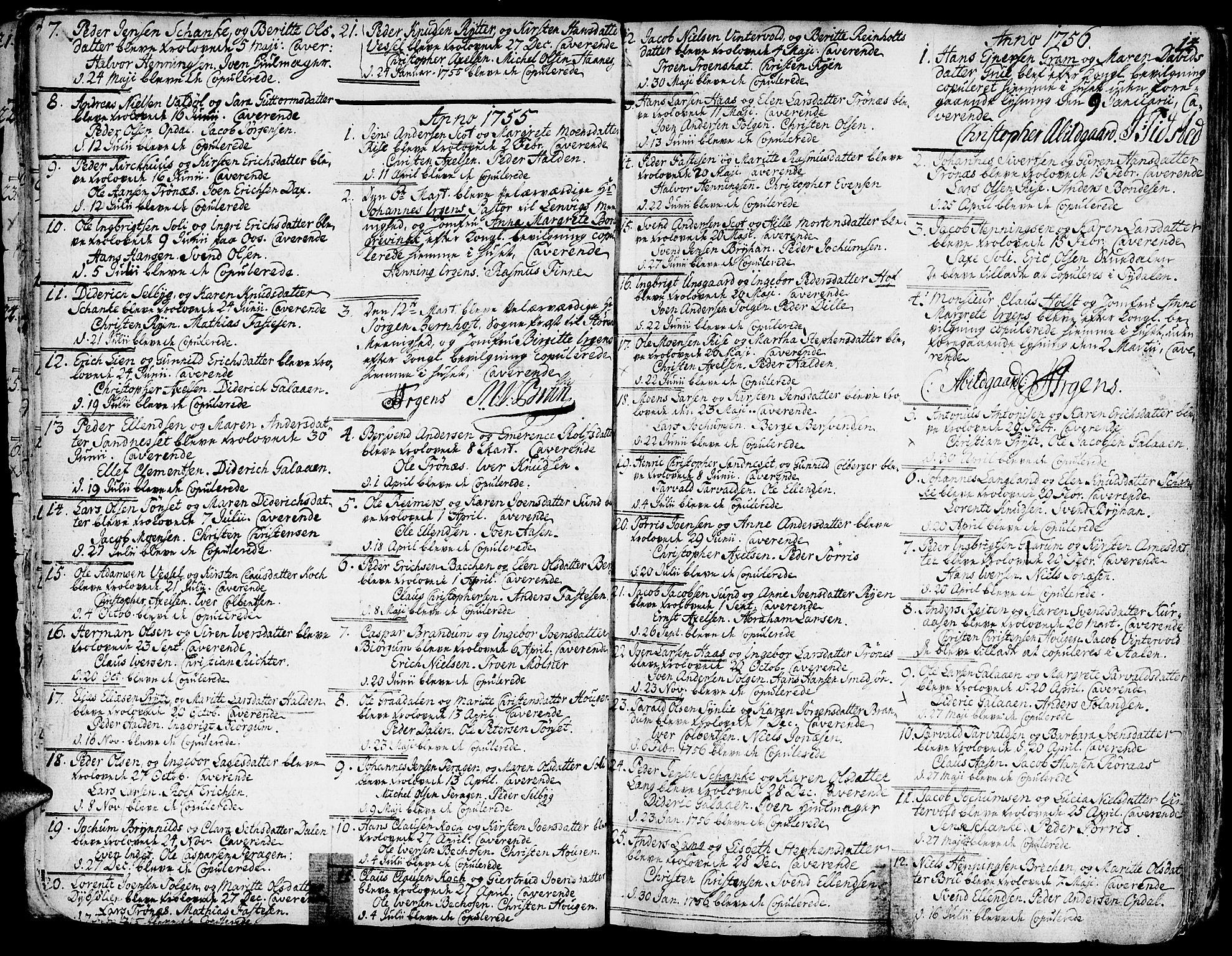 SAT, Ministerialprotokoller, klokkerbøker og fødselsregistre - Sør-Trøndelag, 681/L0925: Ministerialbok nr. 681A03, 1727-1766, s. 14