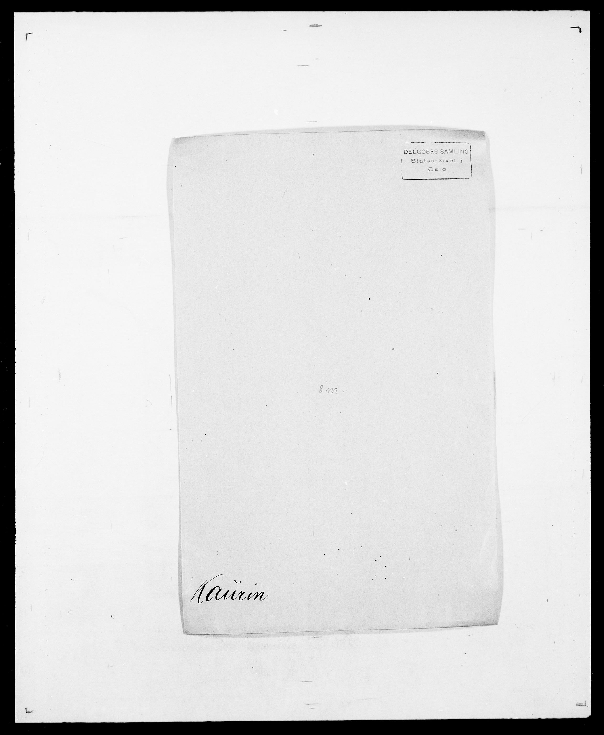 SAO, Delgobe, Charles Antoine - samling, D/Da/L0020: Irgens - Kjøsterud, s. 499