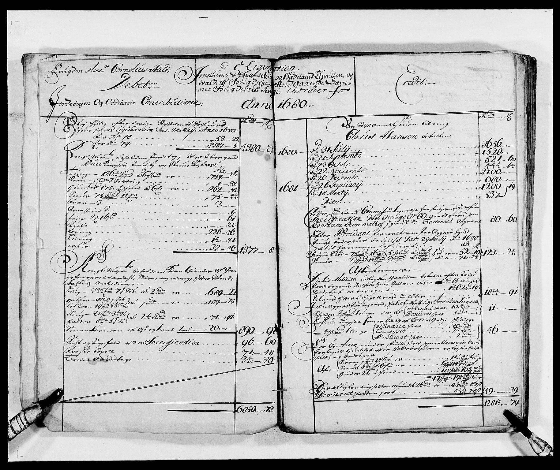 RA, Rentekammeret inntil 1814, Reviderte regnskaper, Fogderegnskap, R18/L1287: Fogderegnskap Hadeland, Toten og Valdres, 1688, s. 86