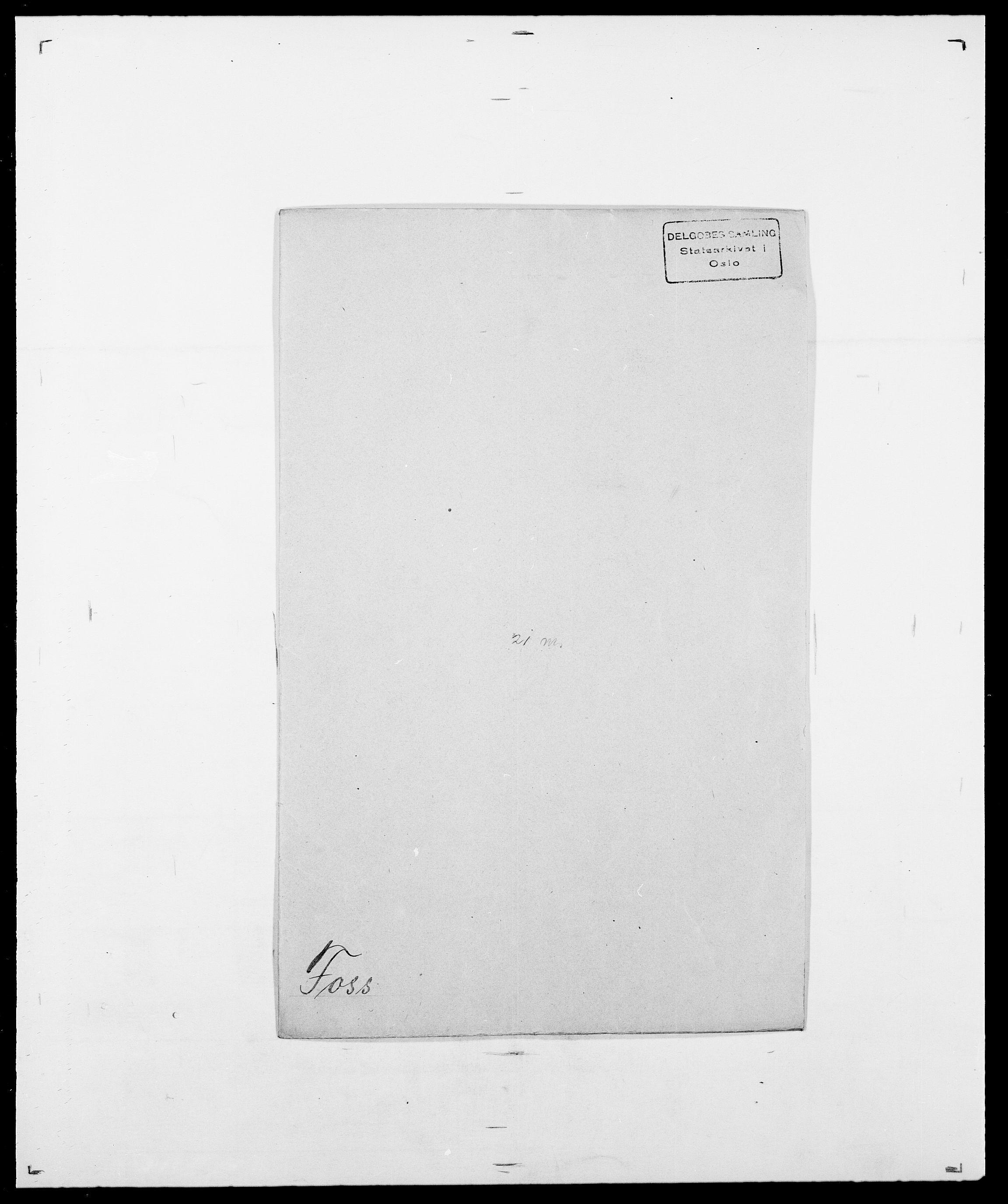 SAO, Delgobe, Charles Antoine - samling, D/Da/L0012: Flor, Floer, Flohr - Fritzner, s. 624