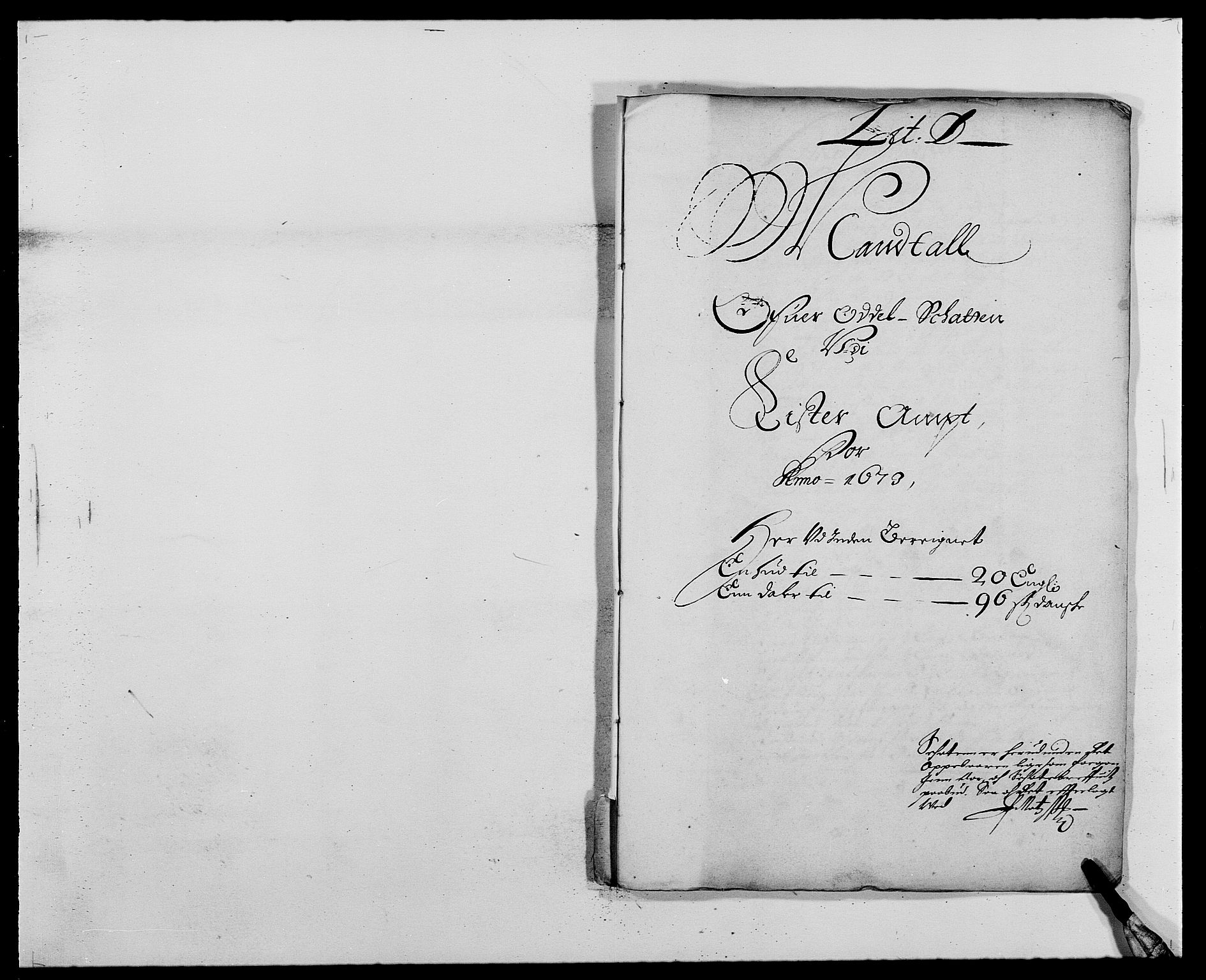 RA, Rentekammeret inntil 1814, Reviderte regnskaper, Fogderegnskap, R41/L2528: Fogderegnskap Lista, 1673-1674, s. 132