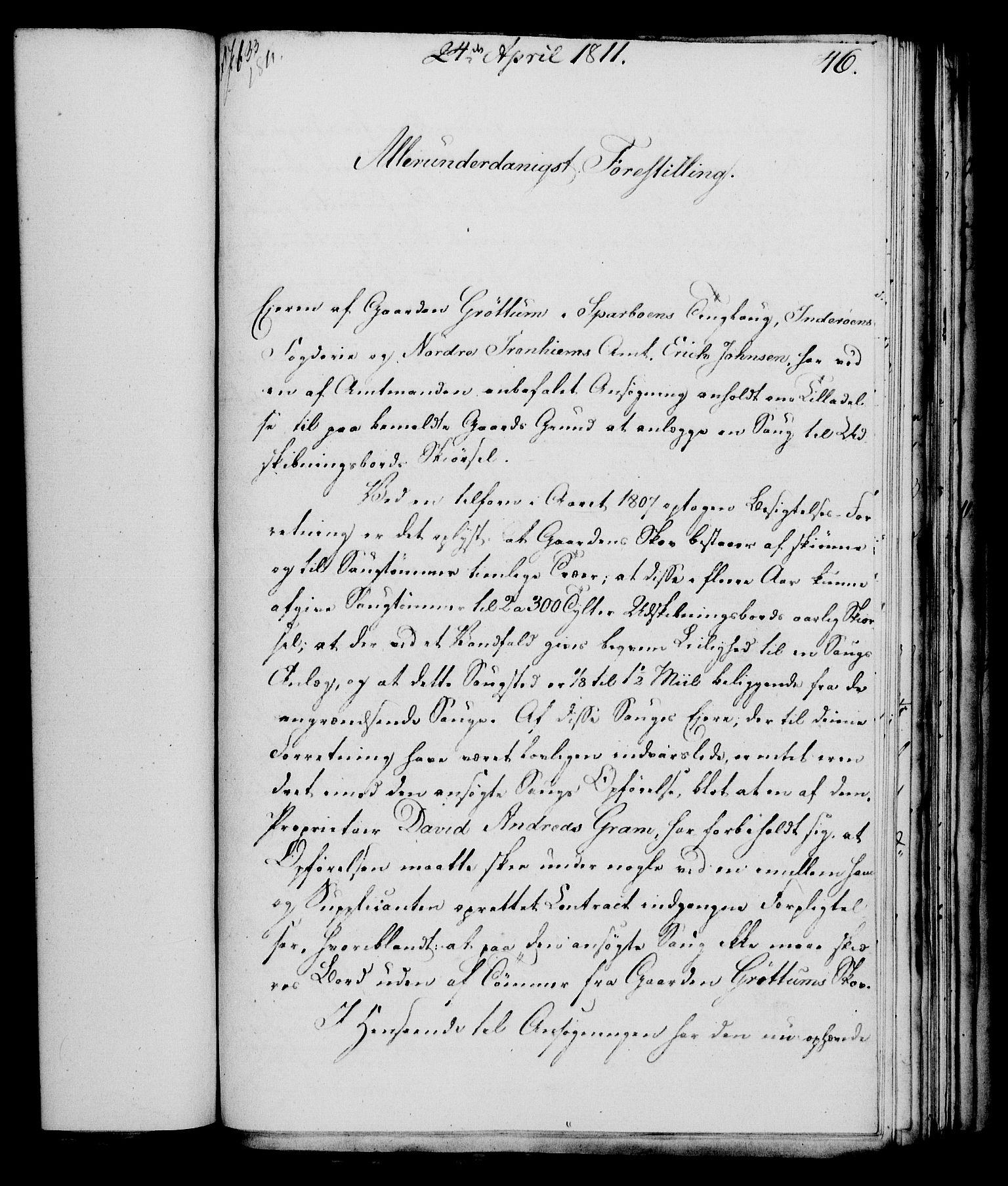 RA, Rentekammeret, Kammerkanselliet, G/Gf/Gfa/L0093: Norsk relasjons- og resolusjonsprotokoll (merket RK 52.93), 1811, s. 190