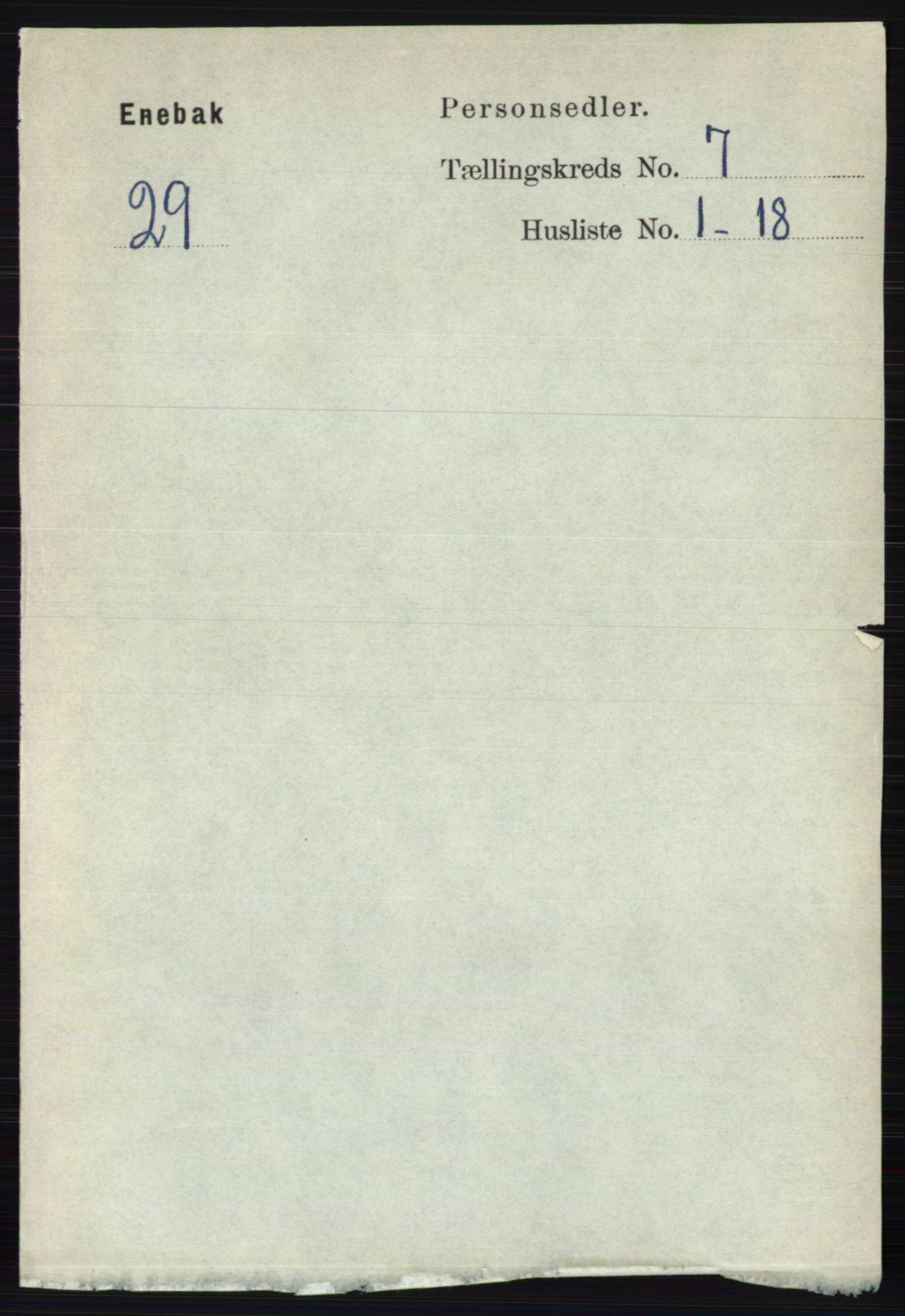 RA, Folketelling 1891 for 0229 Enebakk herred, 1891, s. 3566