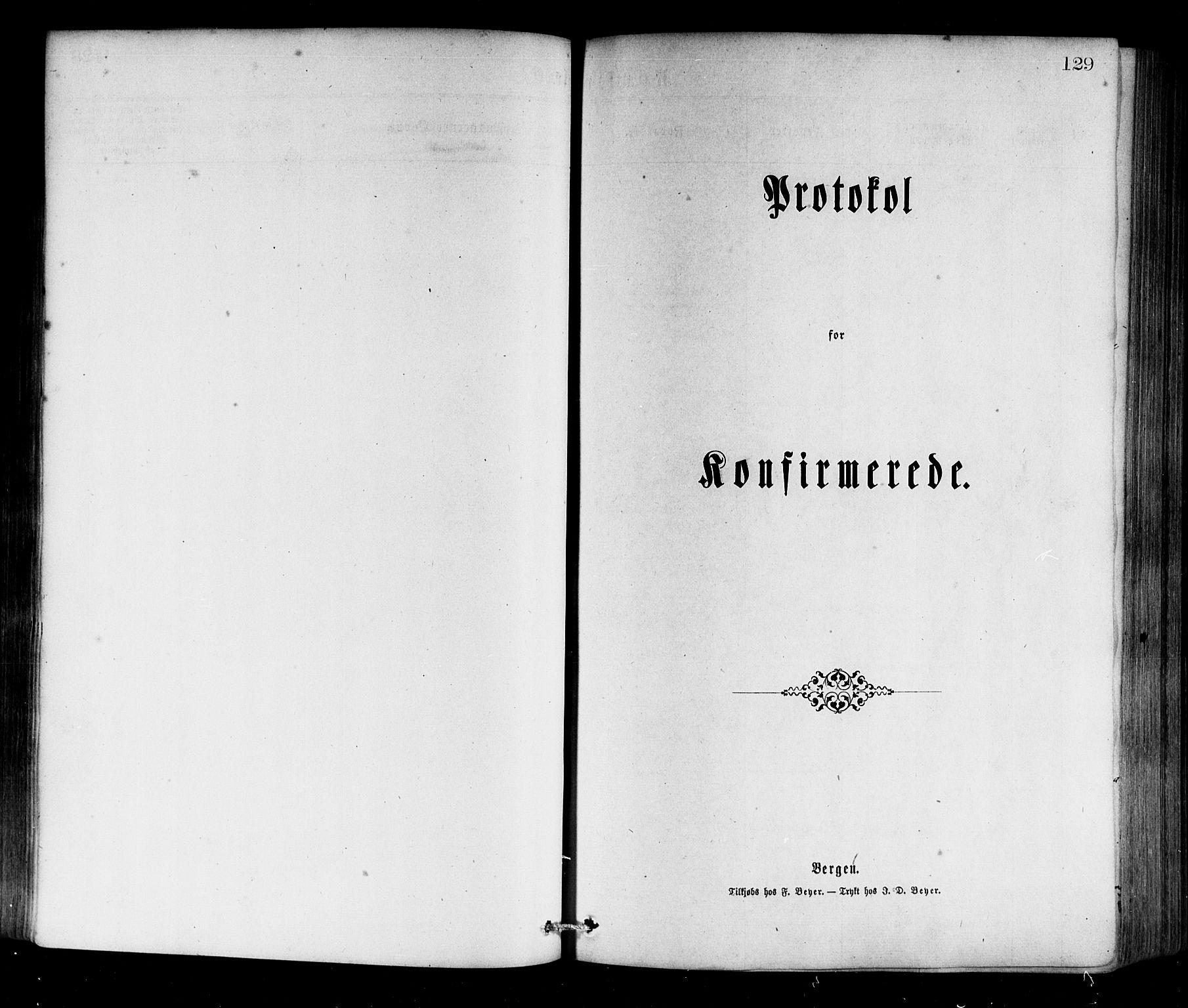 SAB, Selje sokneprestembete*, Ministerialbok nr. A 12, 1870-1880, s. 129