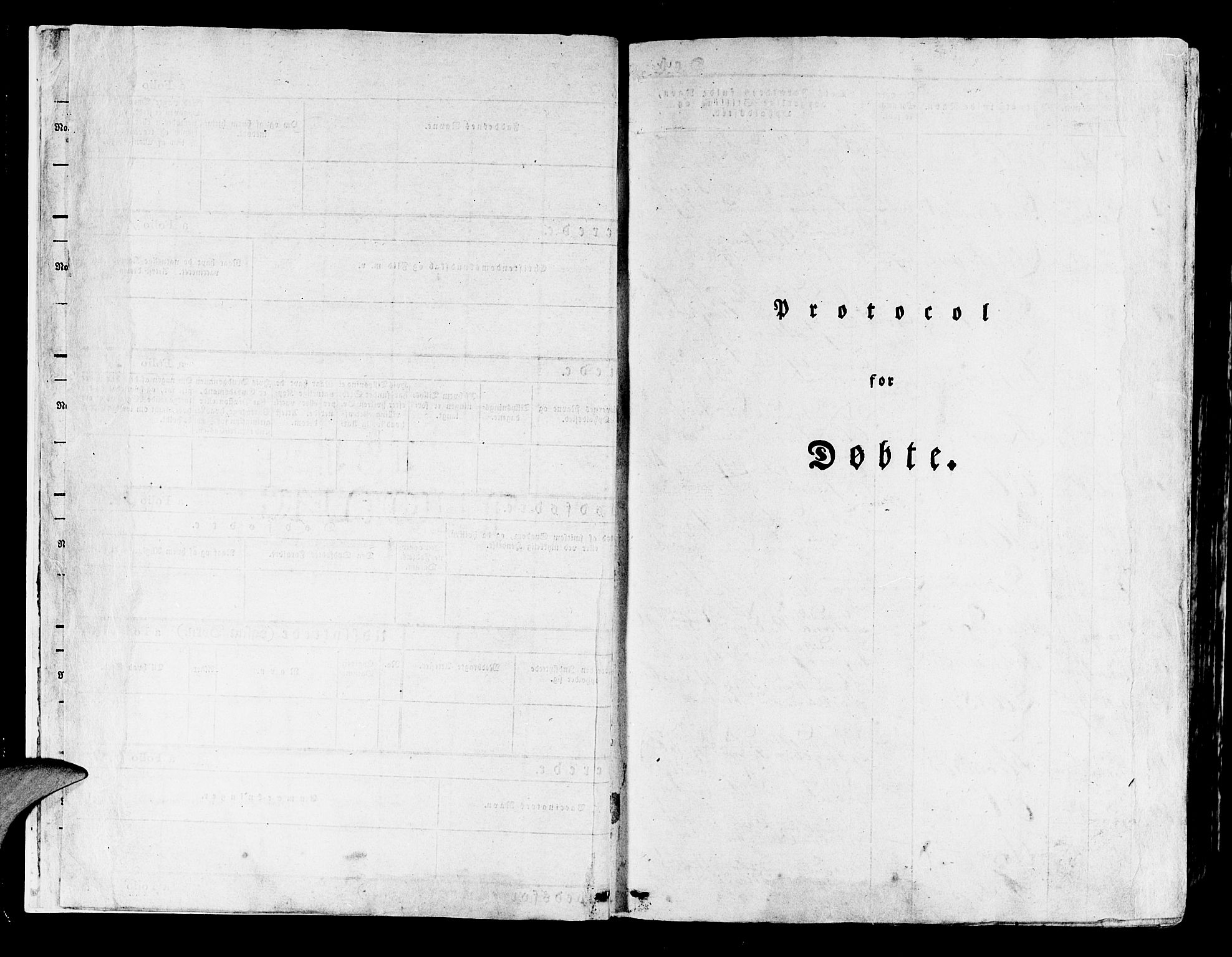 SAB, Lindås Sokneprestembete, H/Haa: Ministerialbok nr. A 8, 1823-1836