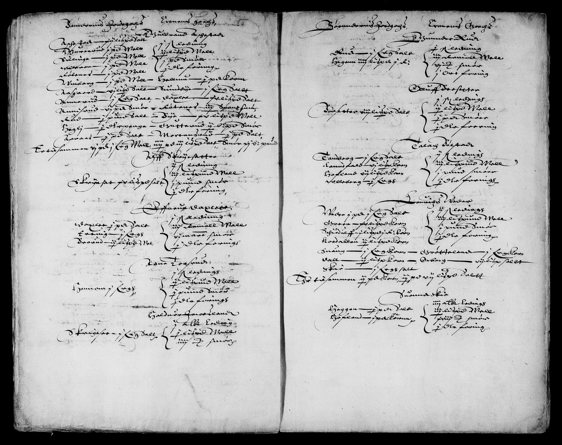 RA, Danske Kanselli, Skapsaker, F/L0038: Skap 9, pakke 324-350, 1615-1721, s. 203