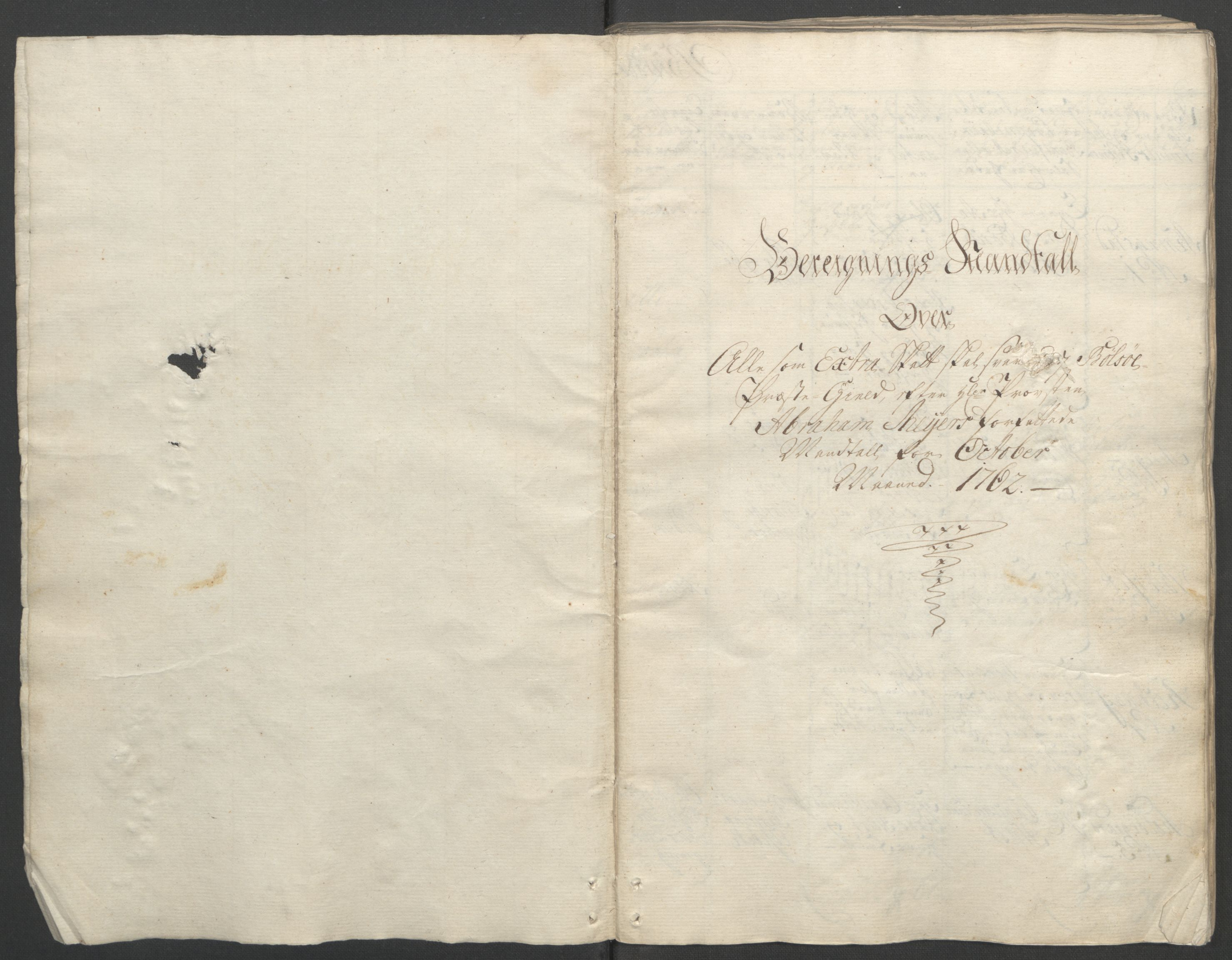 RA, Rentekammeret inntil 1814, Reviderte regnskaper, Fogderegnskap, R55/L3730: Ekstraskatten Romsdal, 1762-1763, s. 12
