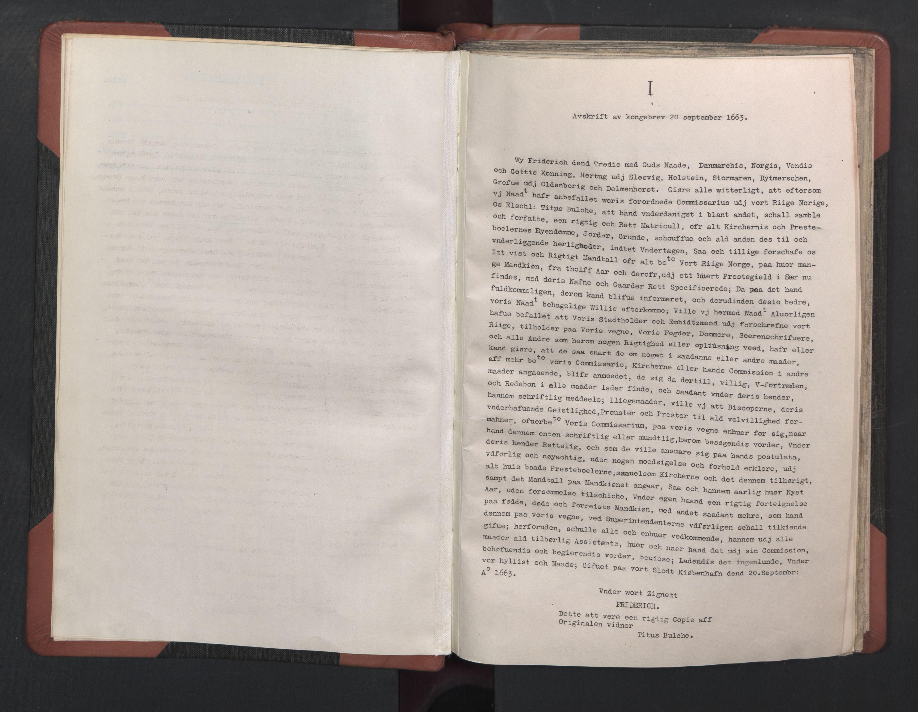 RA, Manntall 1664-1666, nr. 37: Titus Bülches og andres bemerkninger til manntallene, 1664-1666, s. upaginert