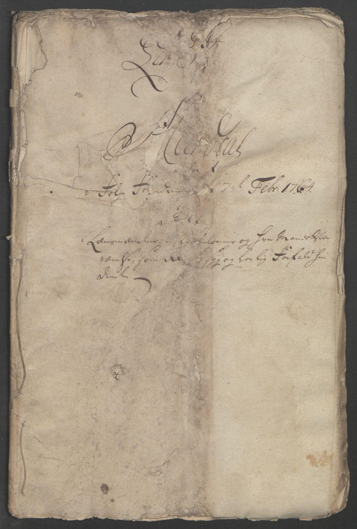 RA, Rentekammeret inntil 1814, Reviderte regnskaper, Fogderegnskap, R46/L2835: Ekstraskatten Jæren og Dalane, 1762-1764, s. 282