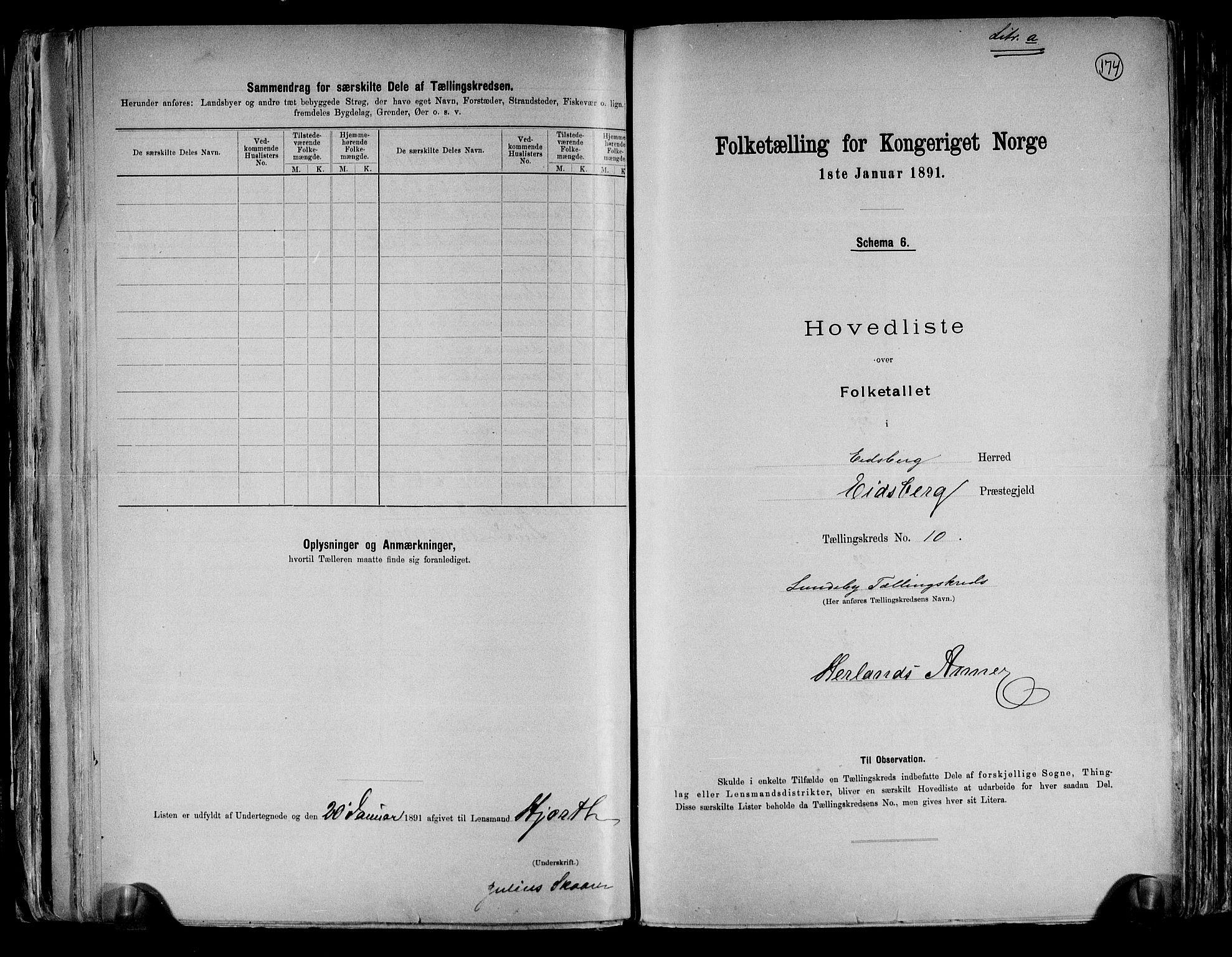 RA, Folketelling 1891 for 0125 Eidsberg herred, 1891, s. 26