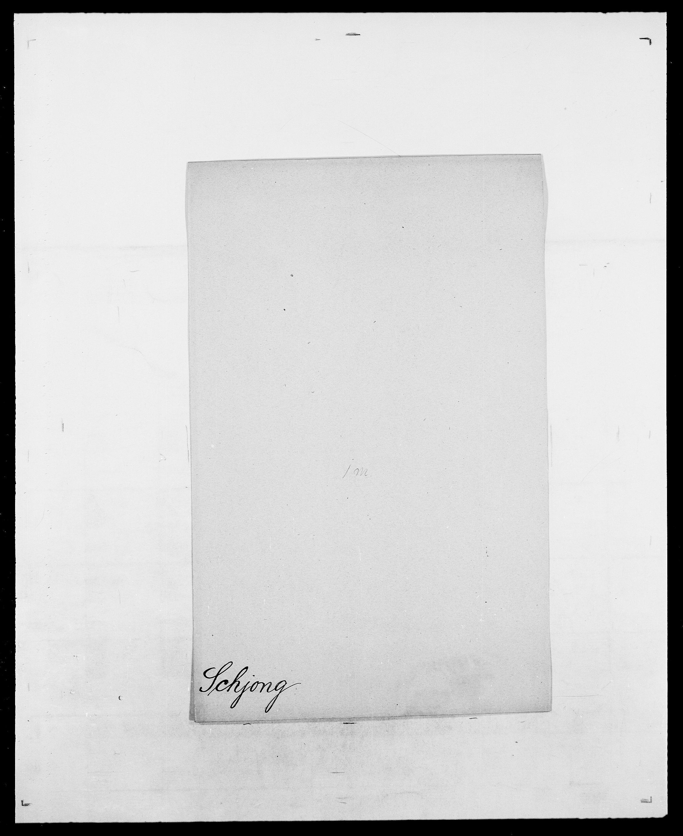 SAO, Delgobe, Charles Antoine - samling, D/Da/L0034: Saabye - Schmincke, s. 758