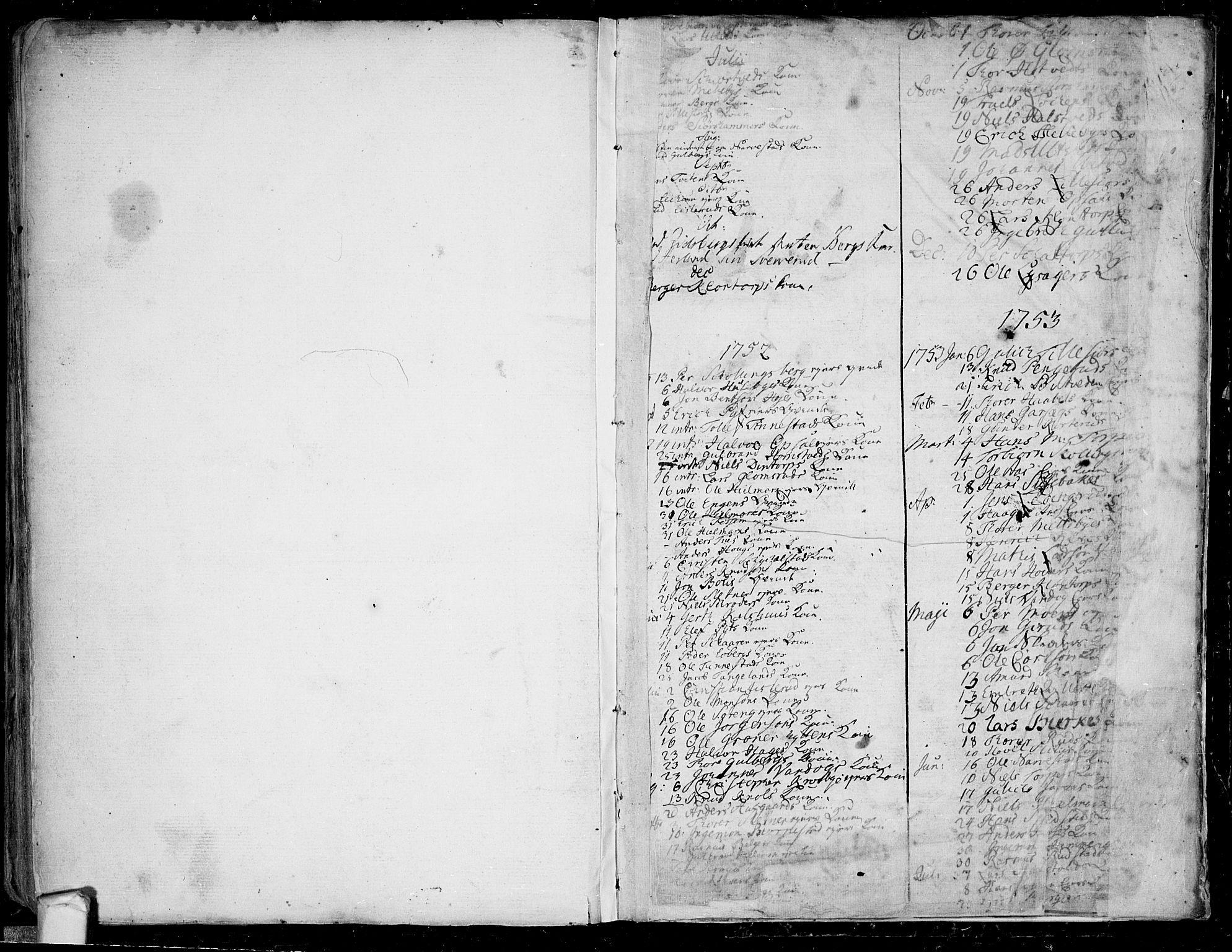 SAO, Eidsberg prestekontor Kirkebøker, F/Fa/L0003: Ministerialbok nr.  I 3, 1742-1758, s. 223-224