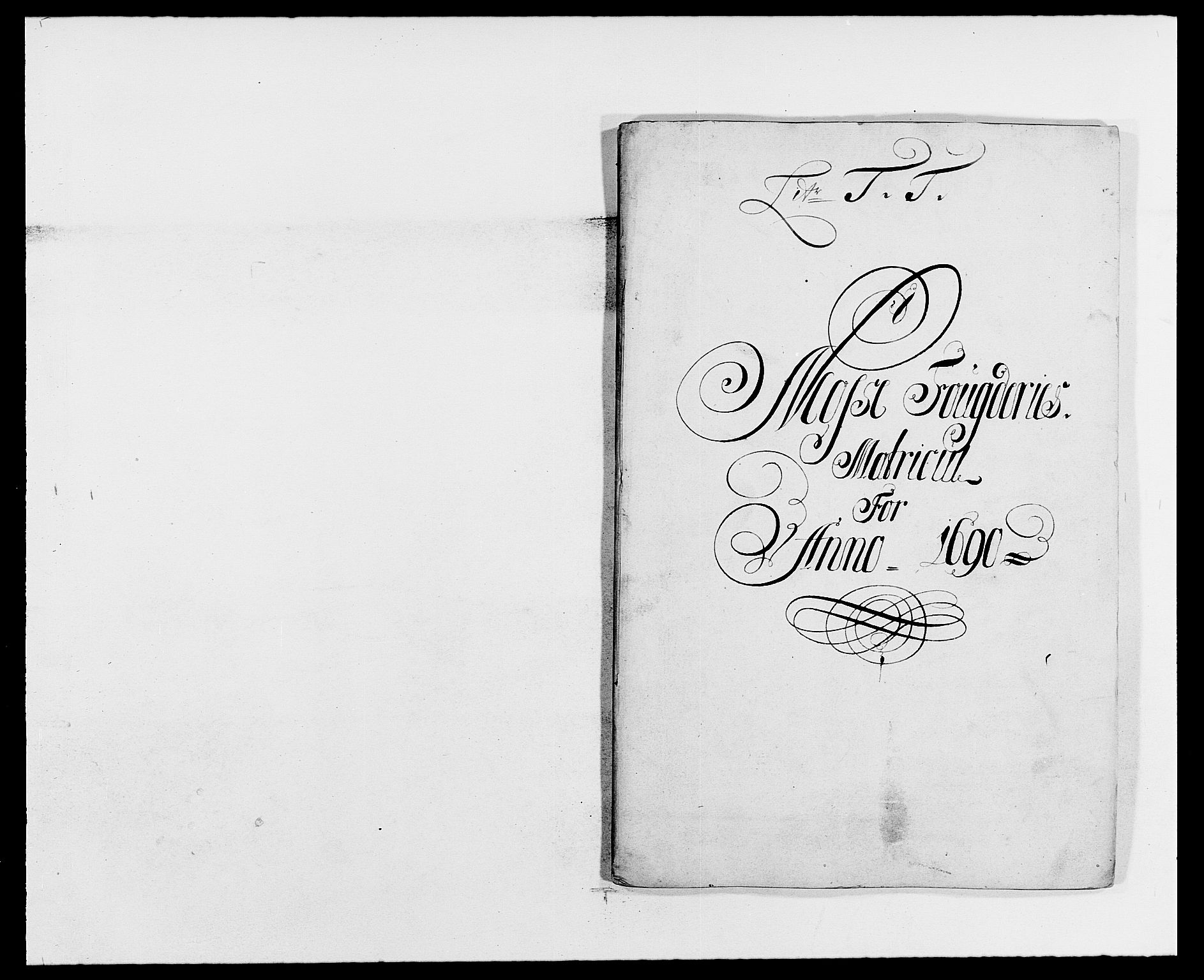 RA, Rentekammeret inntil 1814, Reviderte regnskaper, Fogderegnskap, R02/L0106: Fogderegnskap Moss og Verne kloster, 1688-1691, s. 336