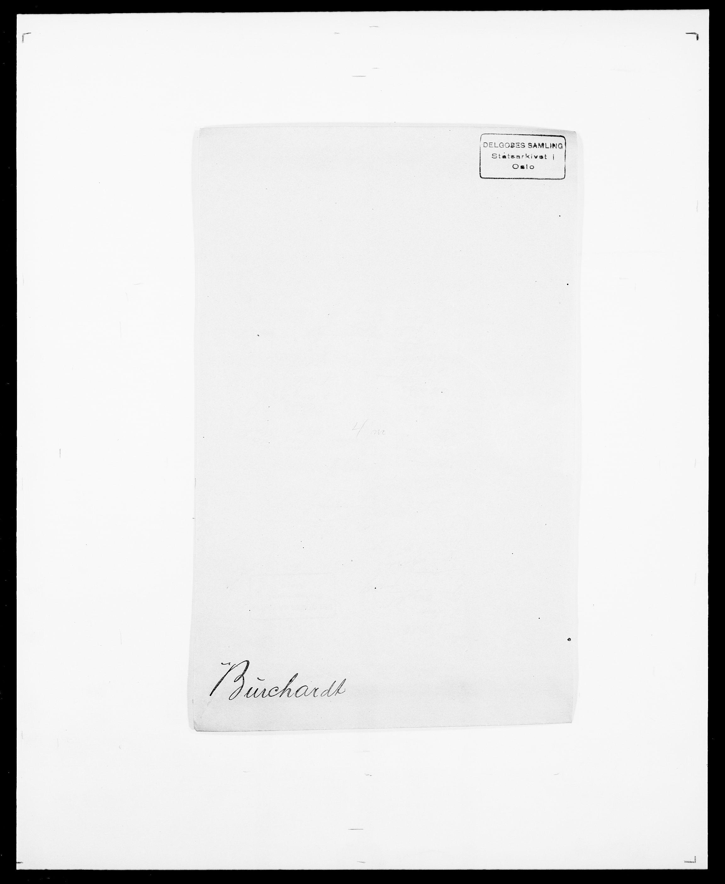 SAO, Delgobe, Charles Antoine - samling, D/Da/L0007: Buaas - Caphengst, s. 409
