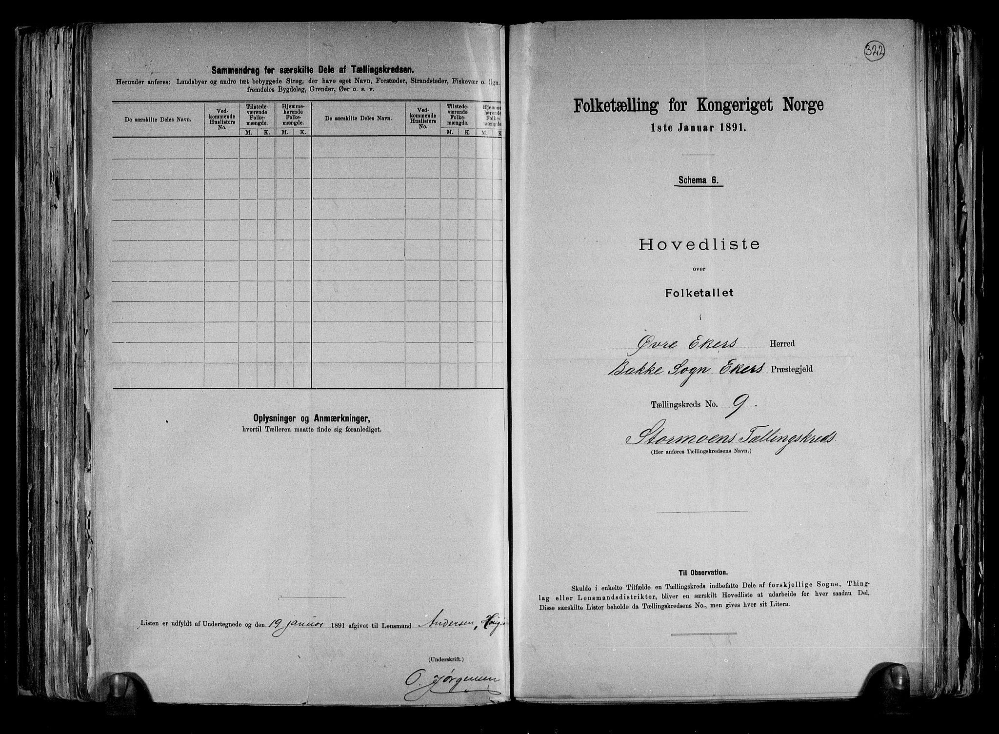 RA, Folketelling 1891 for 0624 Øvre Eiker herred, 1891, s. 24