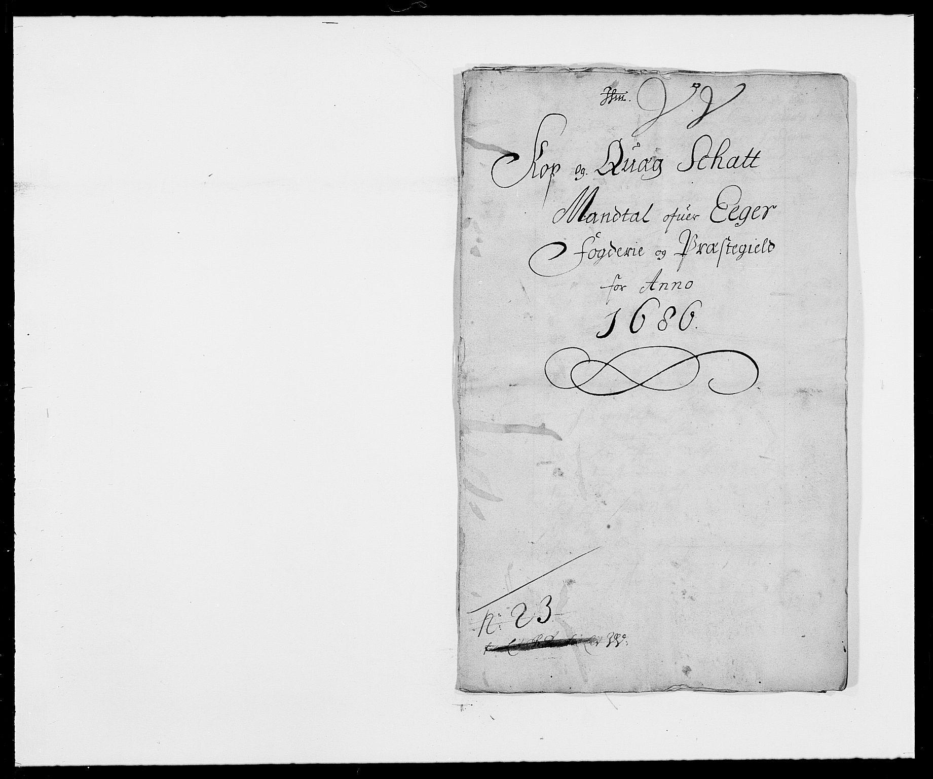RA, Rentekammeret inntil 1814, Reviderte regnskaper, Fogderegnskap, R26/L1685: Fogderegnskap Eiker, 1679-1686, s. 204