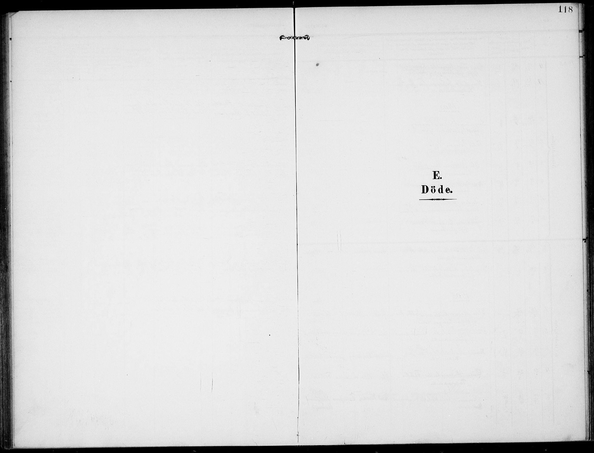 SAKO, Lunde kirkebøker, F/Fa/L0004: Ministerialbok nr. I 4, 1902-1913, s. 118