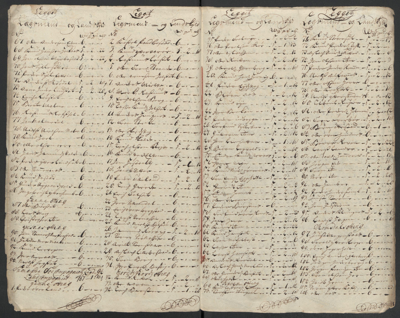 RA, Rentekammeret inntil 1814, Reviderte regnskaper, Fogderegnskap, R55/L3658: Fogderegnskap Romsdal, 1707-1708, s. 247
