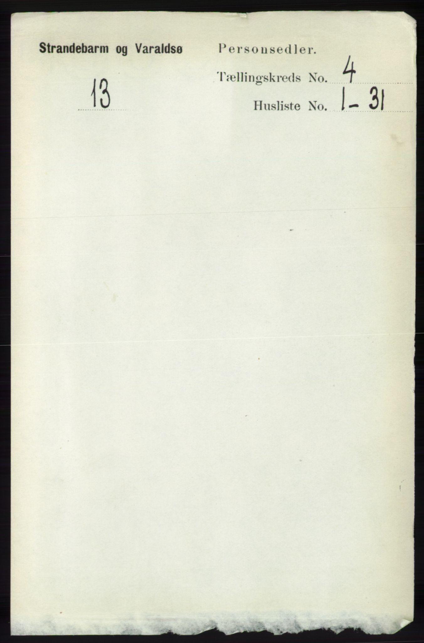 RA, Folketelling 1891 for 1226 Strandebarm og Varaldsøy herred, 1891, s. 1444