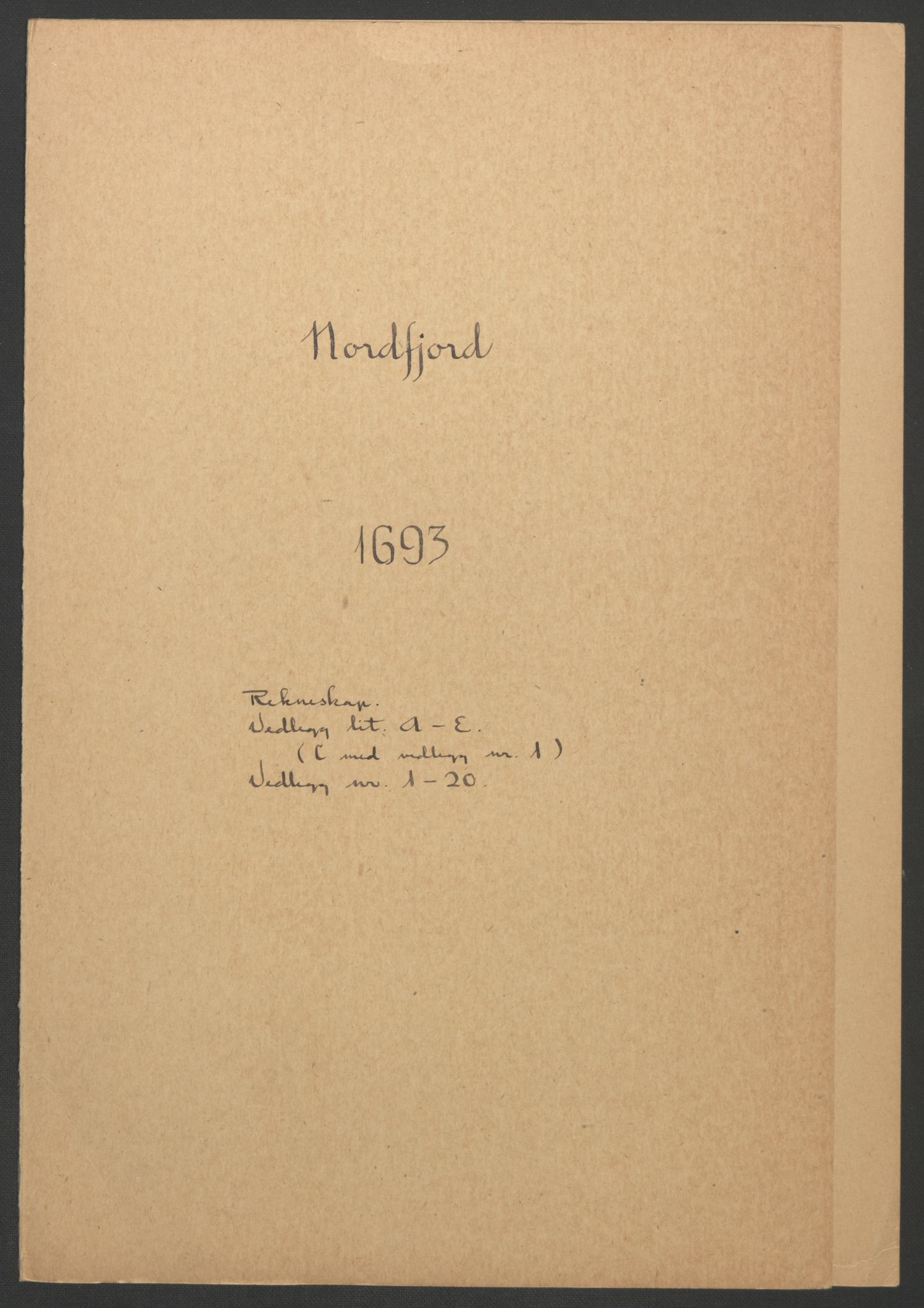 RA, Rentekammeret inntil 1814, Reviderte regnskaper, Fogderegnskap, R53/L3421: Fogderegnskap Sunn- og Nordfjord, 1693-1694, s. 116