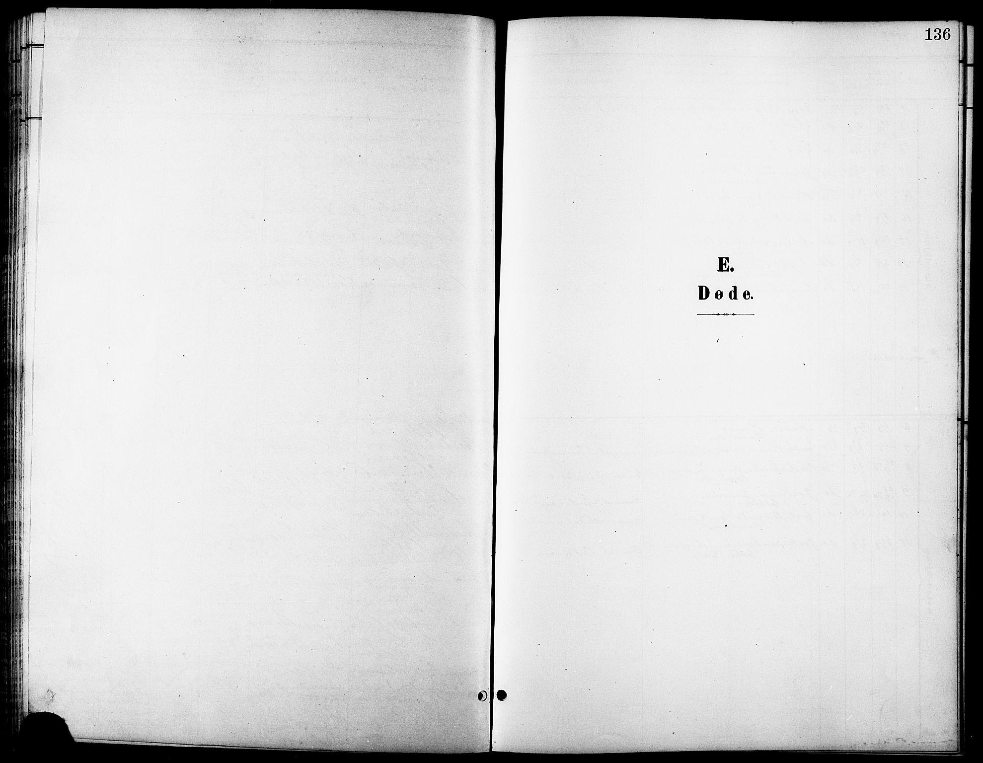 SATØ, Tranøy sokneprestkontor, I/Ia/Iab/L0014klokker: Klokkerbok nr. 14, 1896-1918, s. 136