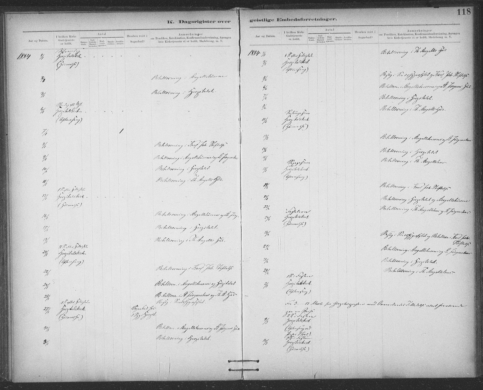 SAT, Ministerialprotokoller, klokkerbøker og fødselsregistre - Sør-Trøndelag, 623/L0470: Ministerialbok nr. 623A04, 1884-1938, s. 118
