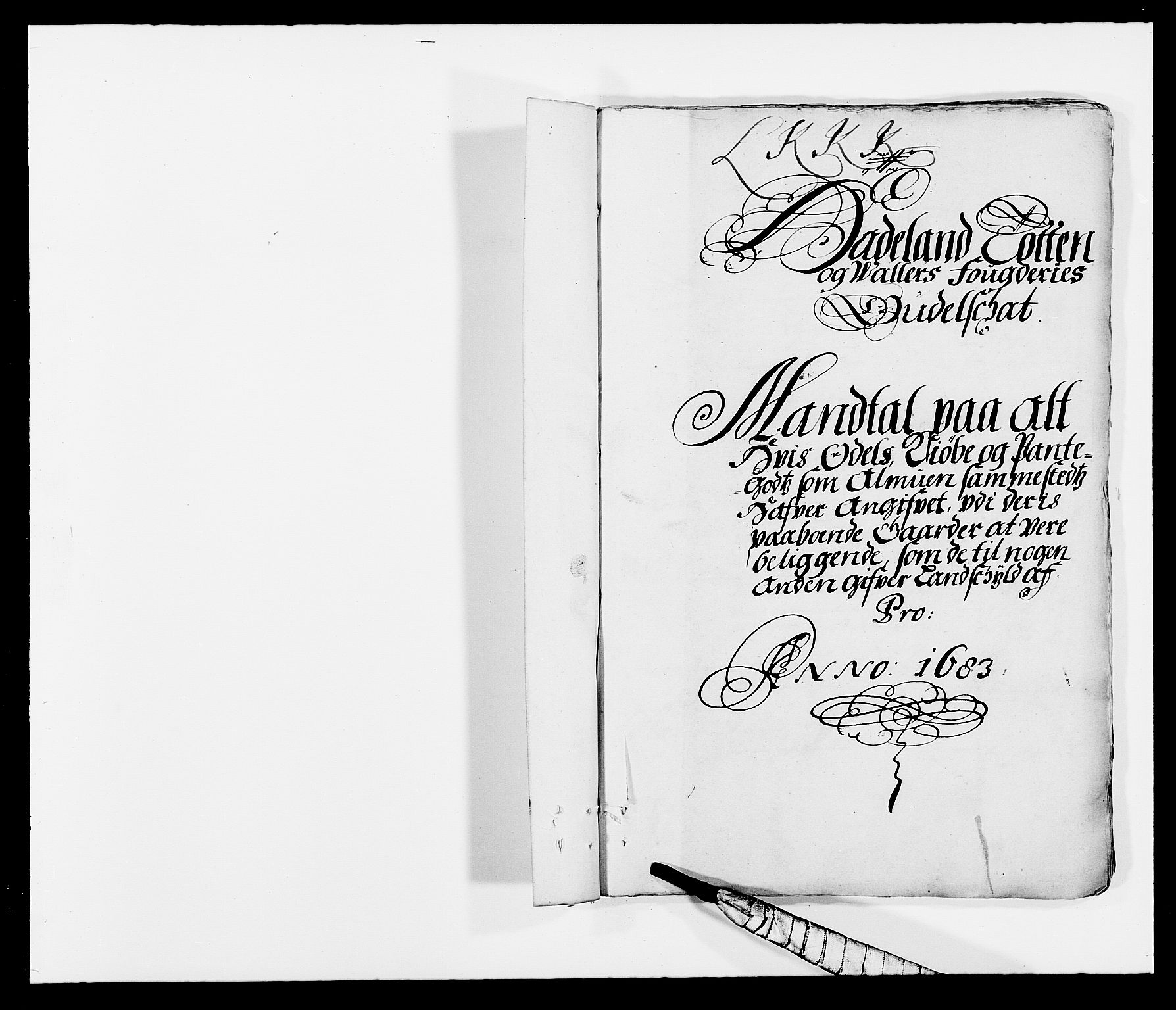 RA, Rentekammeret inntil 1814, Reviderte regnskaper, Fogderegnskap, R18/L1282: Fogderegnskap Hadeland, Toten og Valdres, 1683, s. 169
