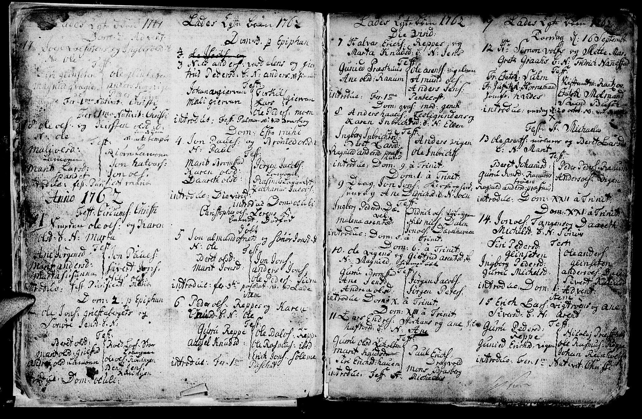 SAT, Ministerialprotokoller, klokkerbøker og fødselsregistre - Sør-Trøndelag, 606/L0305: Klokkerbok nr. 606C01, 1757-1819, s. 7