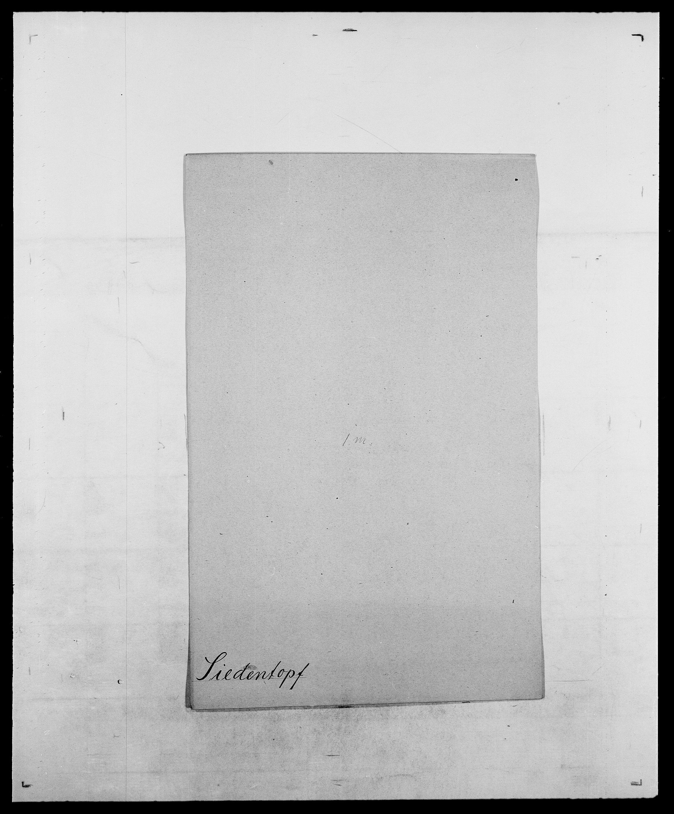 SAO, Delgobe, Charles Antoine - samling, D/Da/L0035: Schnabel - sjetman, s. 765