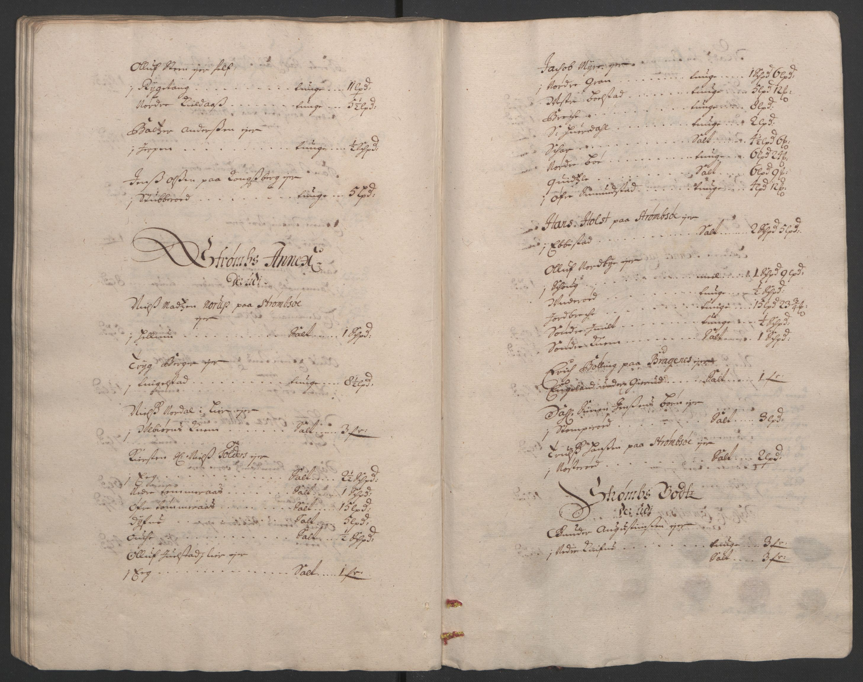 RA, Rentekammeret inntil 1814, Reviderte regnskaper, Fogderegnskap, R32/L1865: Fogderegnskap Jarlsberg grevskap, 1692, s. 203