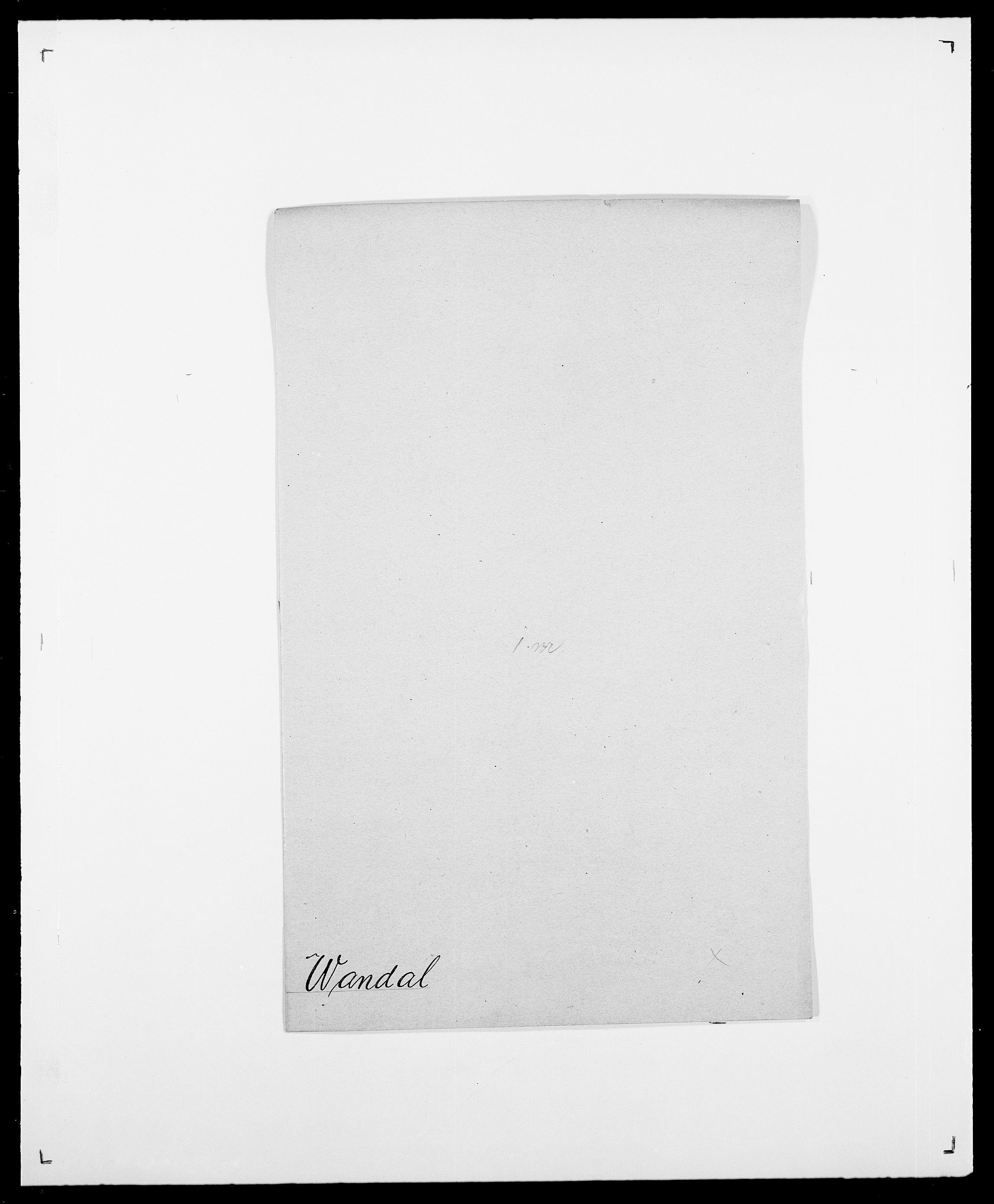 SAO, Delgobe, Charles Antoine - samling, D/Da/L0040: Usgaard - Velund, s. 269