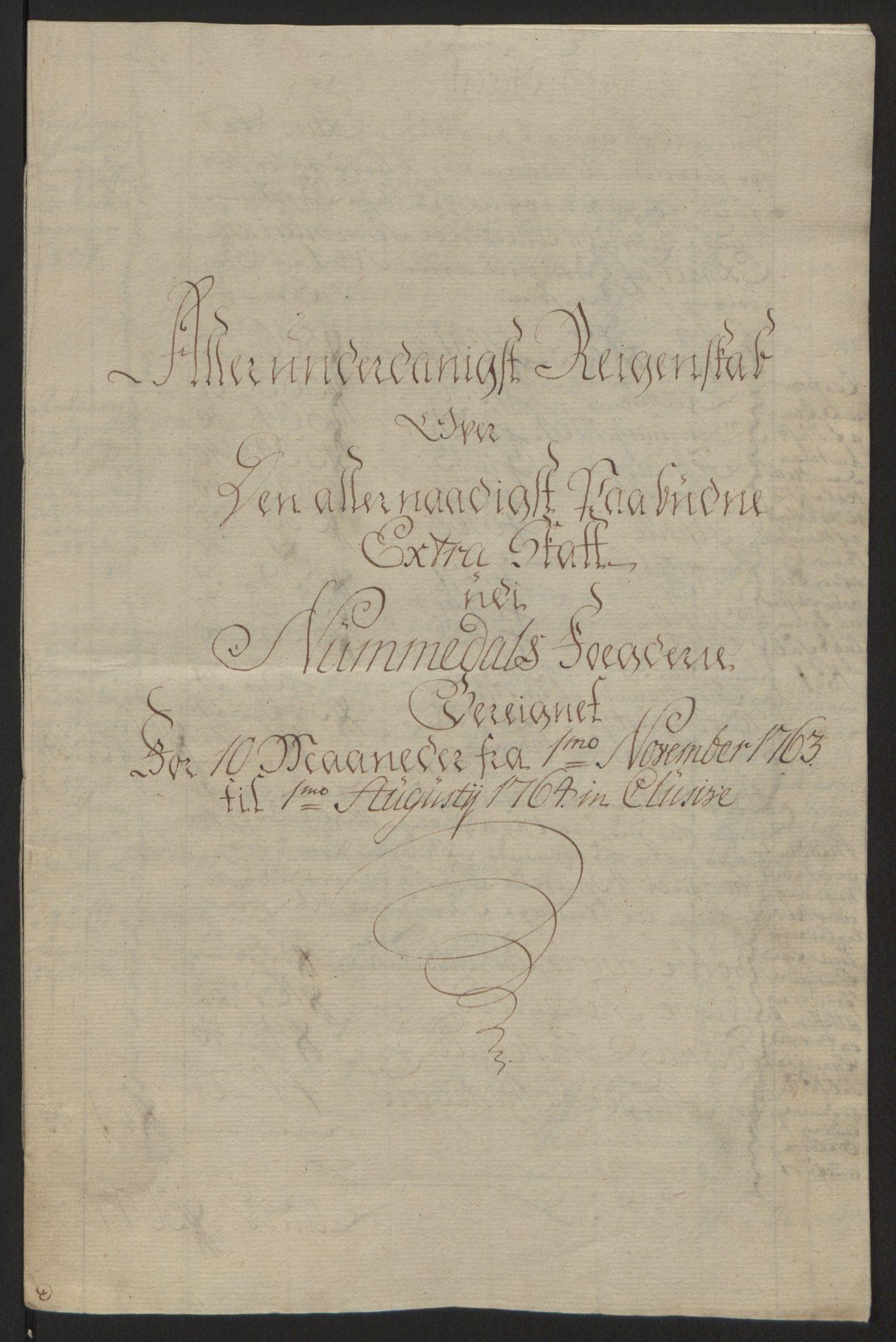 RA, Rentekammeret inntil 1814, Reviderte regnskaper, Fogderegnskap, R64/L4502: Ekstraskatten Namdal, 1762-1772, s. 79