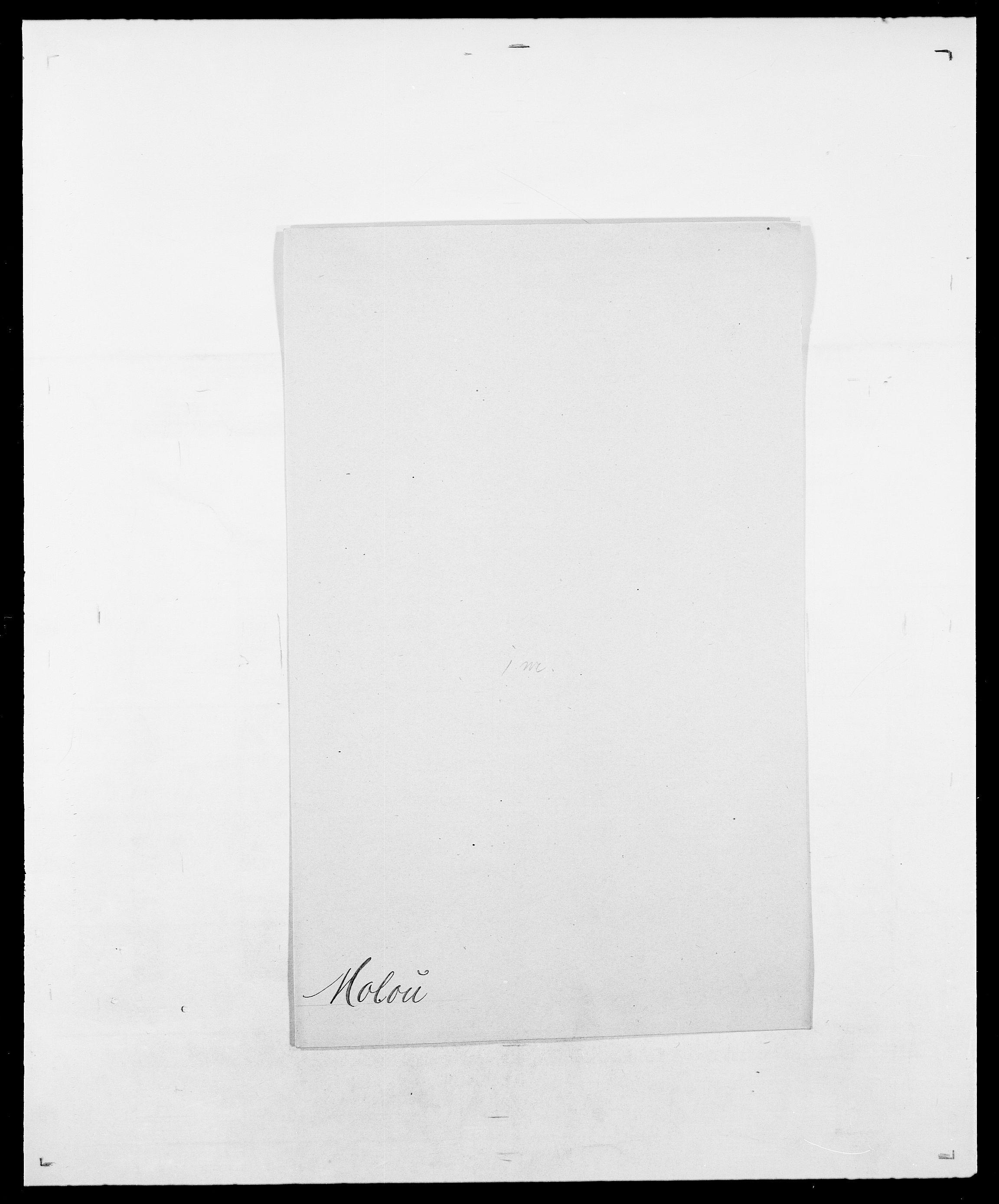 SAO, Delgobe, Charles Antoine - samling, D/Da/L0026: Mechelby - Montoppidan, s. 768