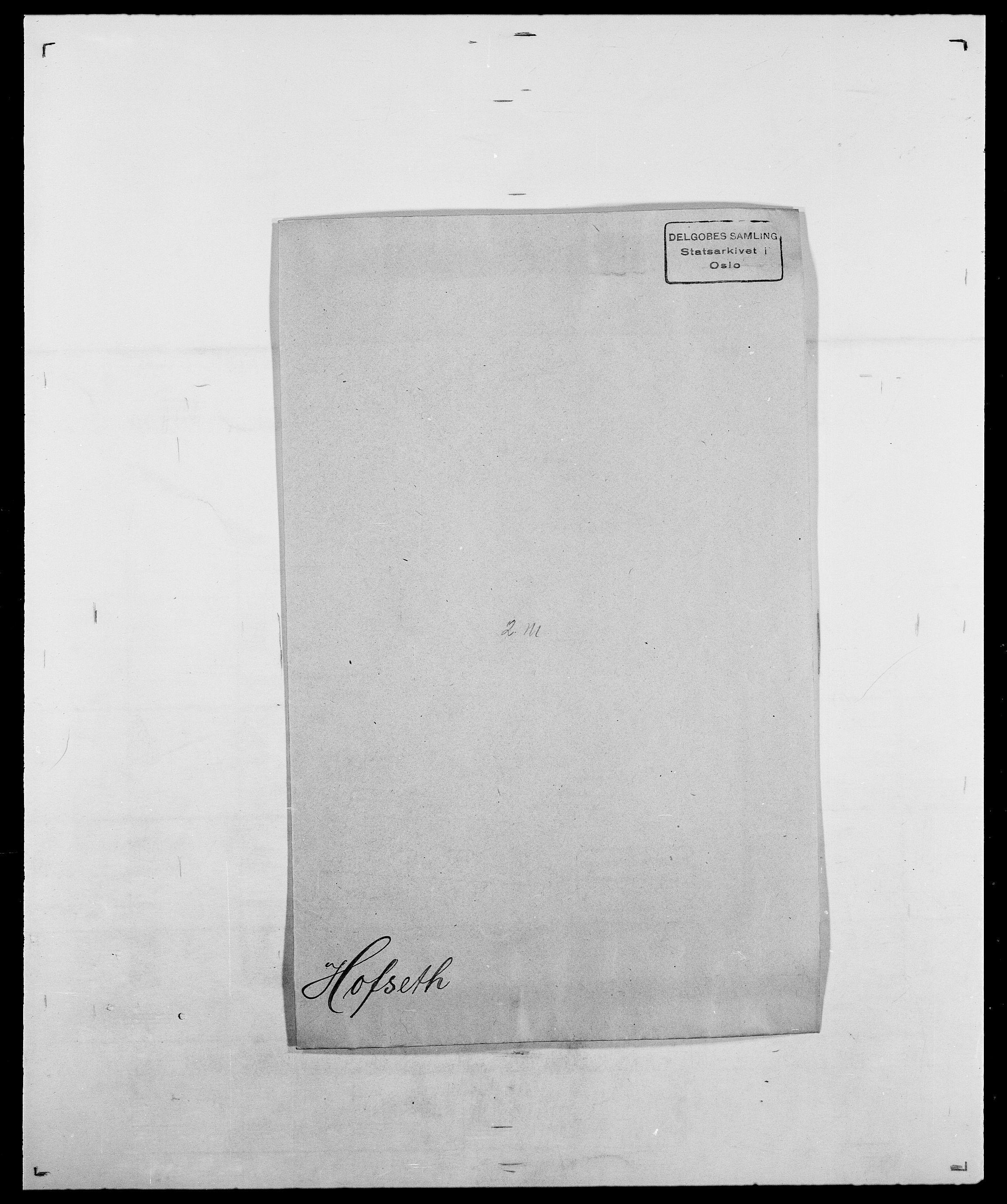 SAO, Delgobe, Charles Antoine - samling, D/Da/L0018: Hoch - Howert, s. 137
